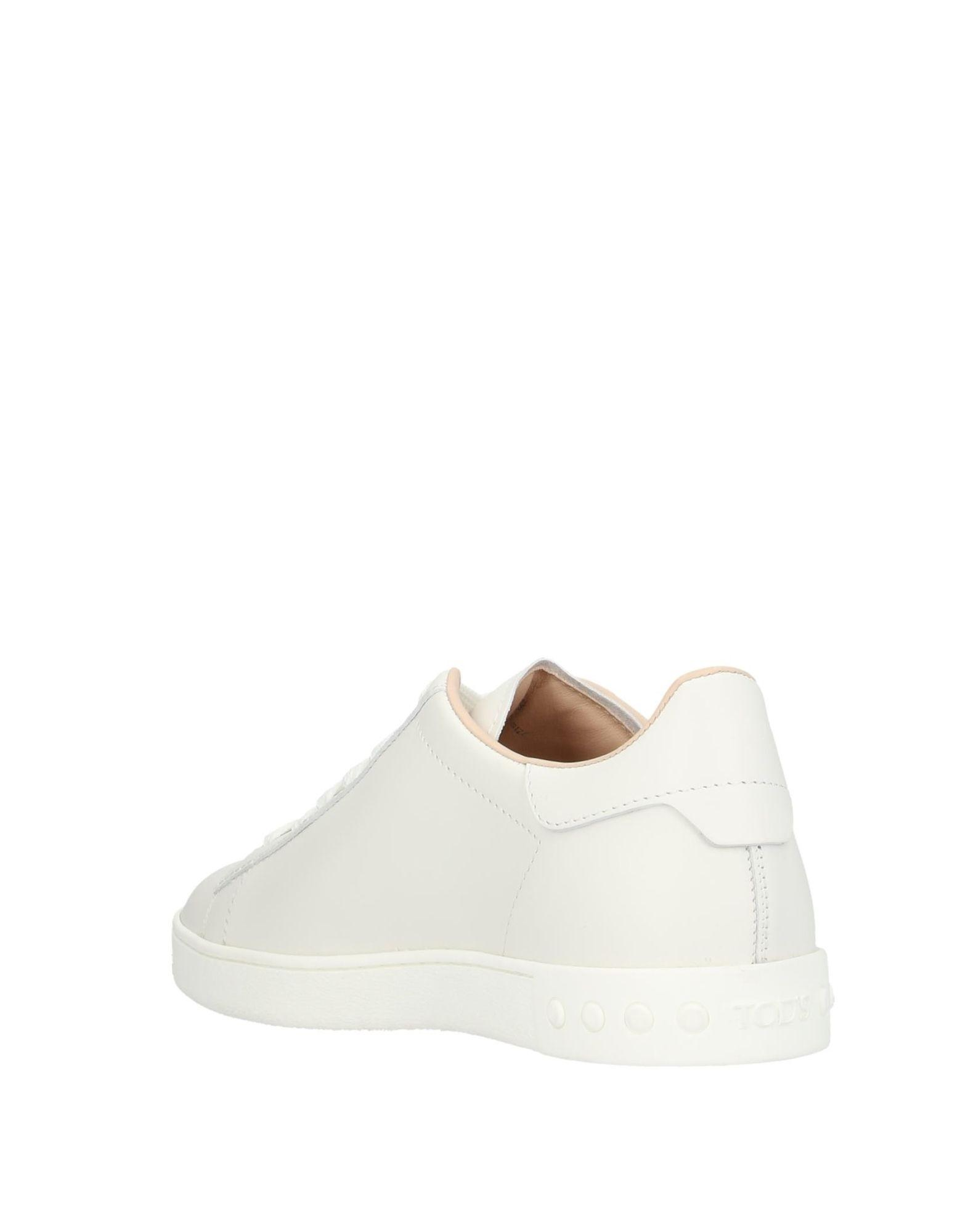 Sneakers & Deportivas Tod's de Cuero de color Blanco