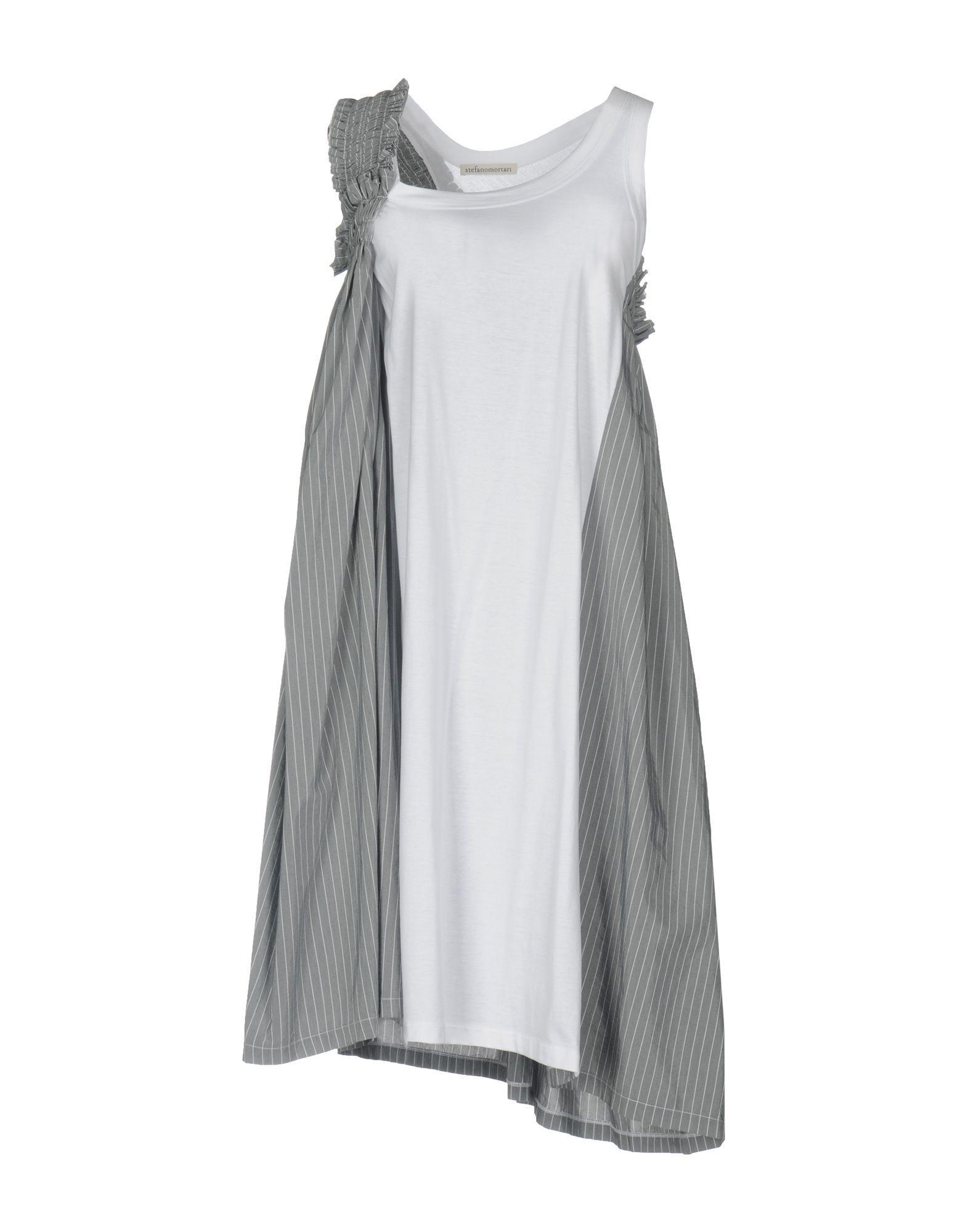 DRESSES - 3/4 length dresses Stefano Mortari kyBn86xLN