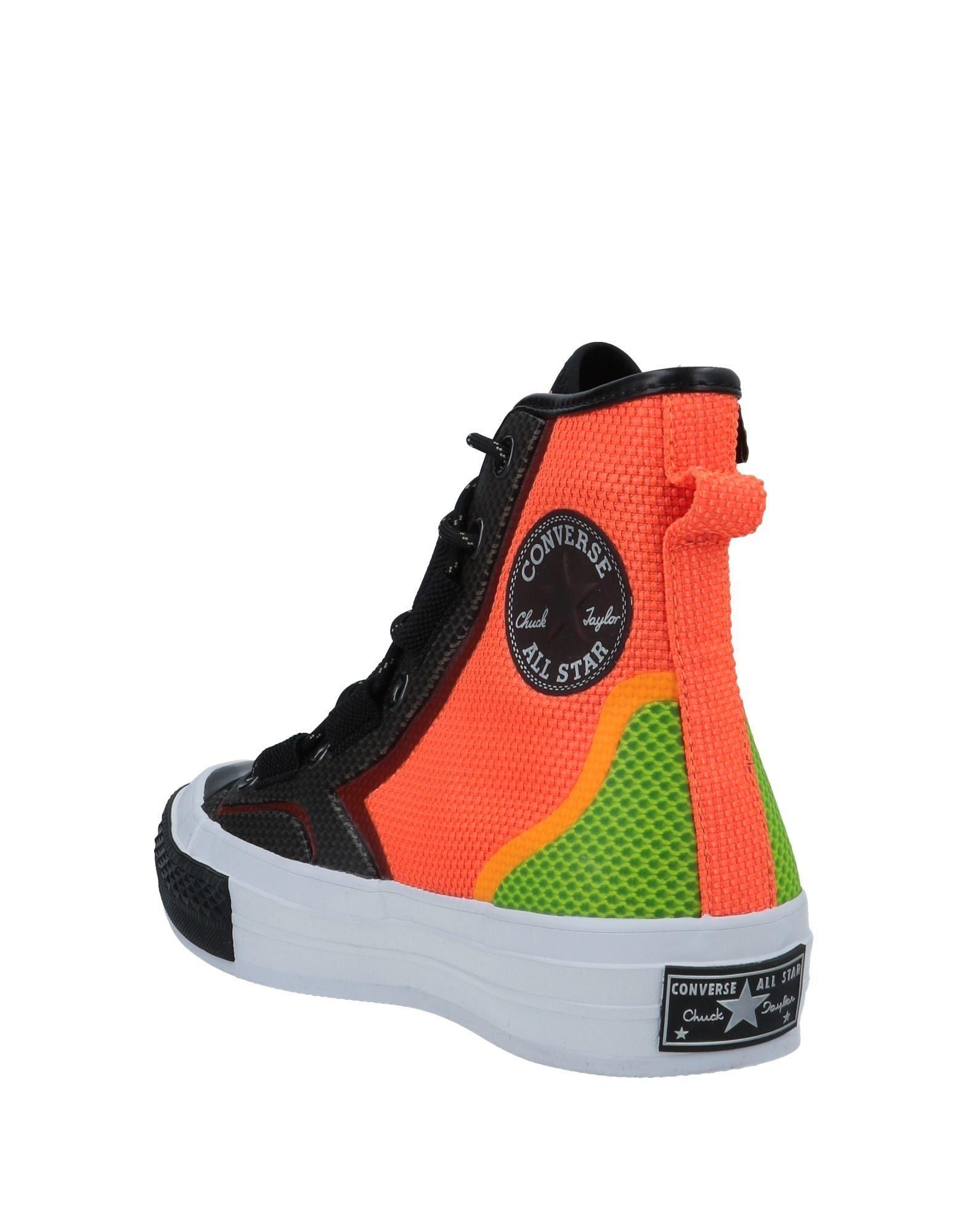 Sneakers abotinadas Converse de color Negro
