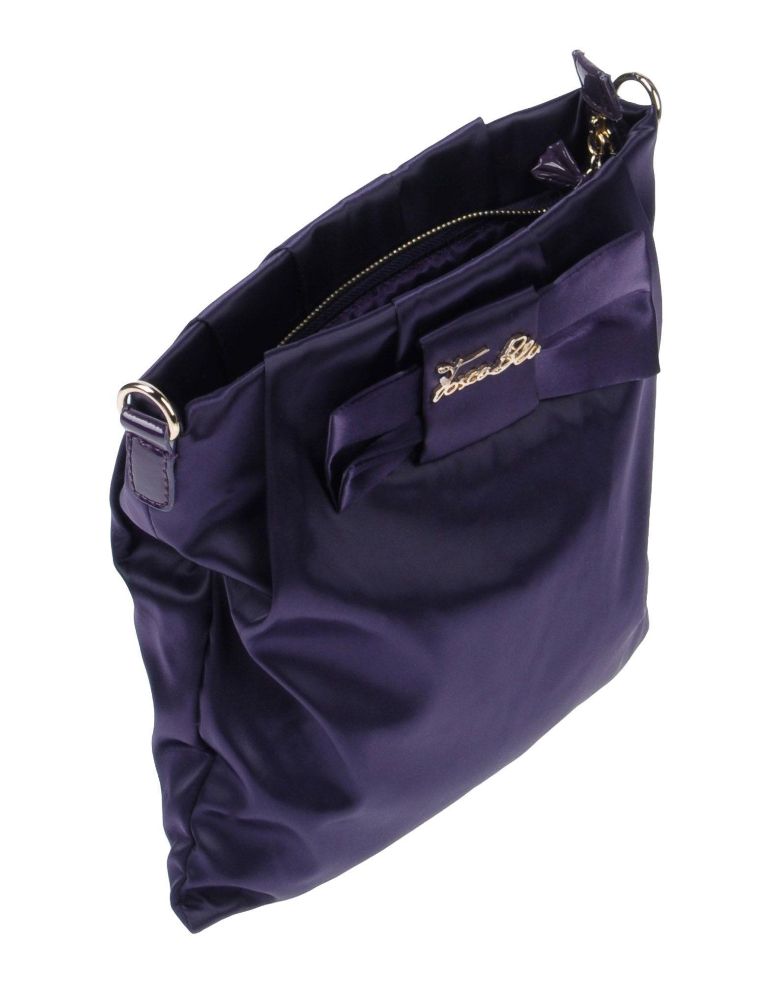Tosca Blu Cross-body Bag in Purple