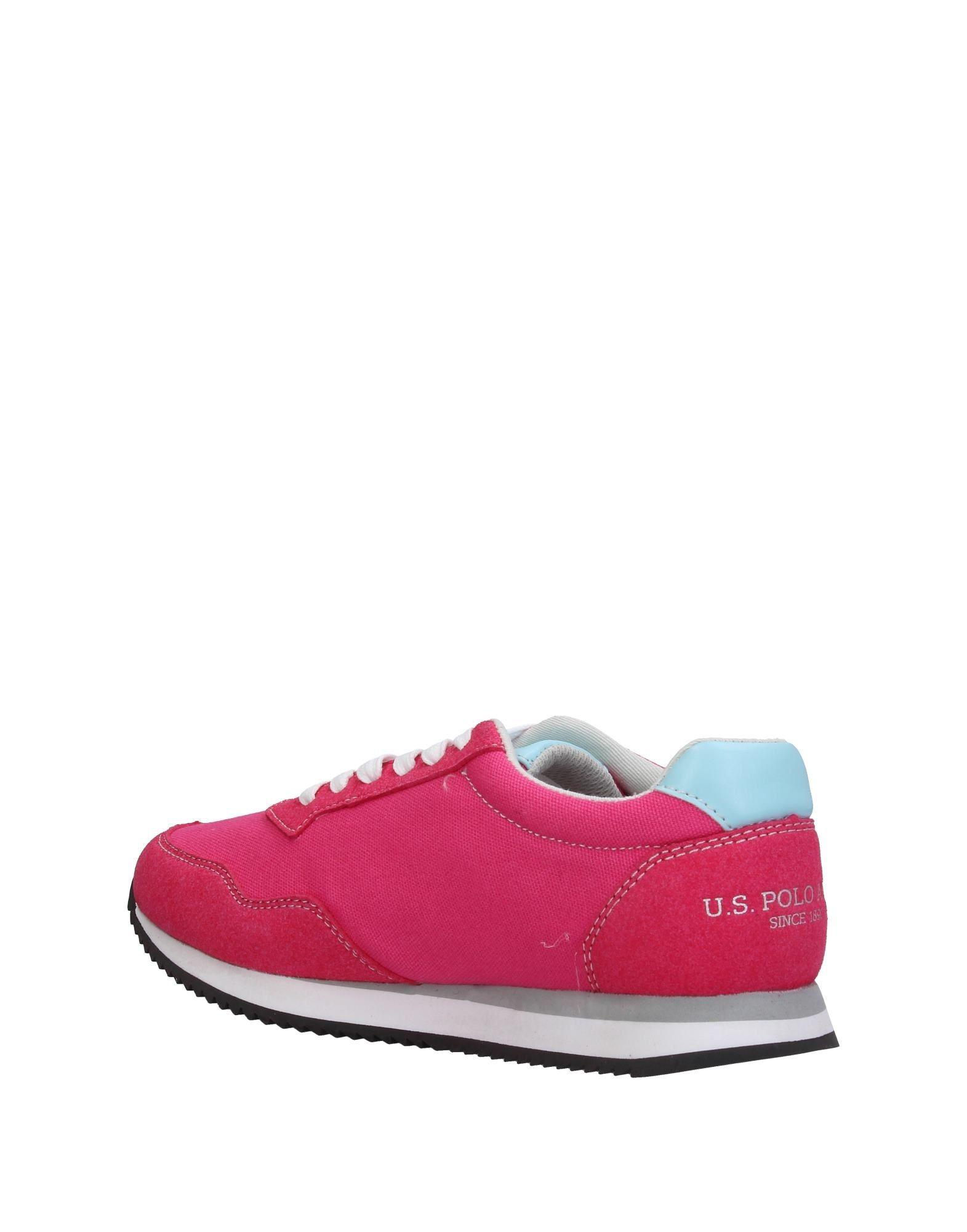 U.S. POLO ASSN. Low-tops & Sneakers in Fuchsia (Pink)