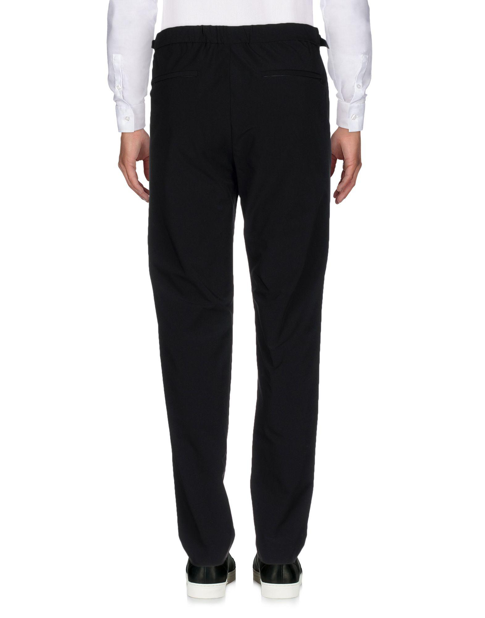 Theory Synthetic Casual Pants in Black for Men