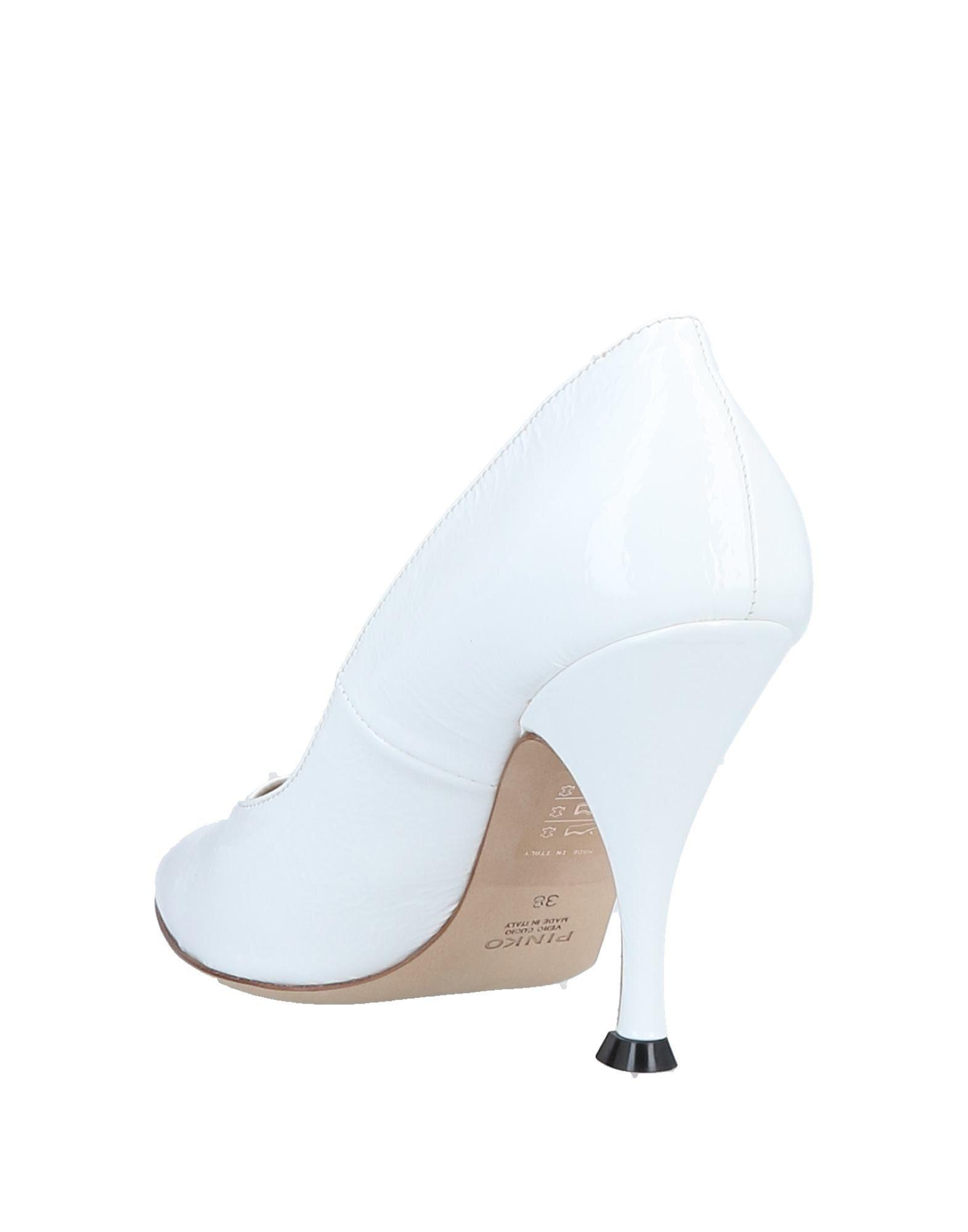 Zapatos de salón Pinko de Cuero de color Blanco
