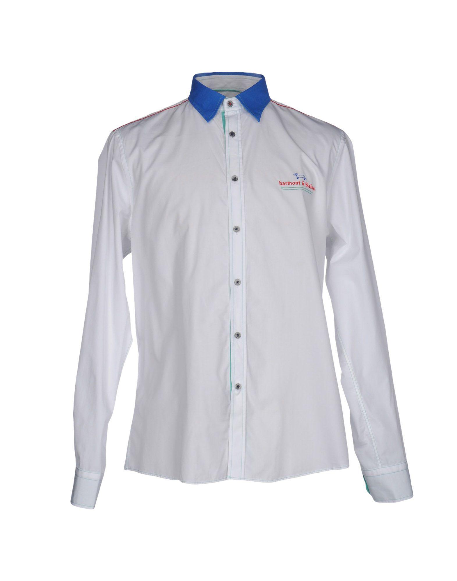Harmont & Blaine. Men's White Shirt