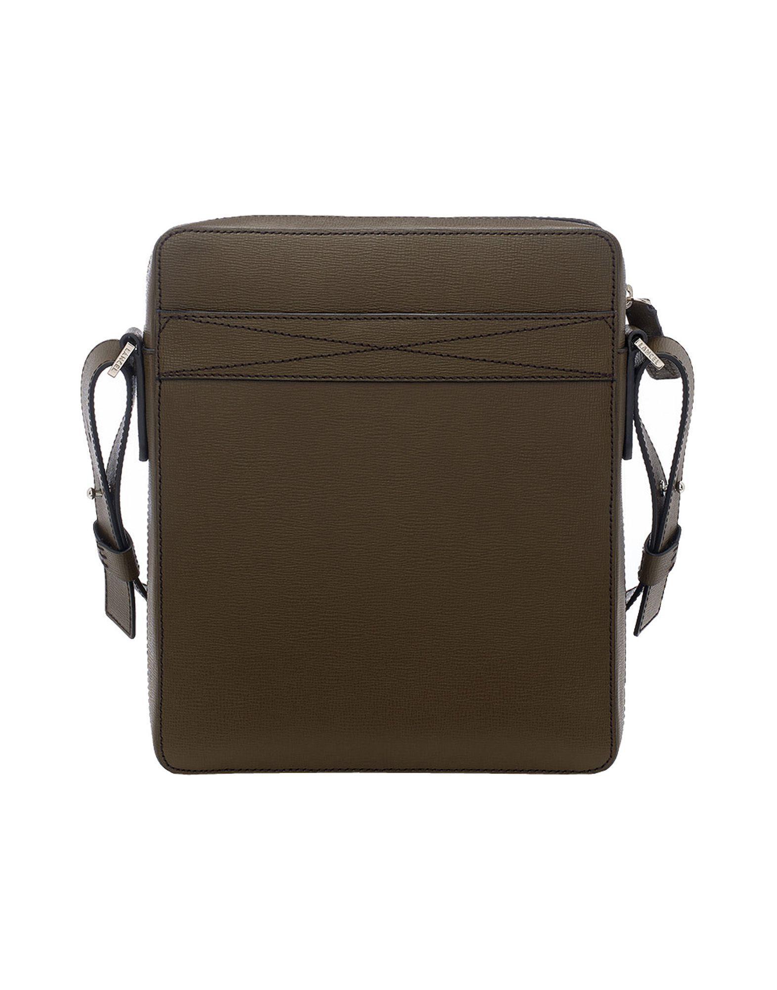 Lancel Leather Cross-body Bags in Dark Brown (Brown) for Men