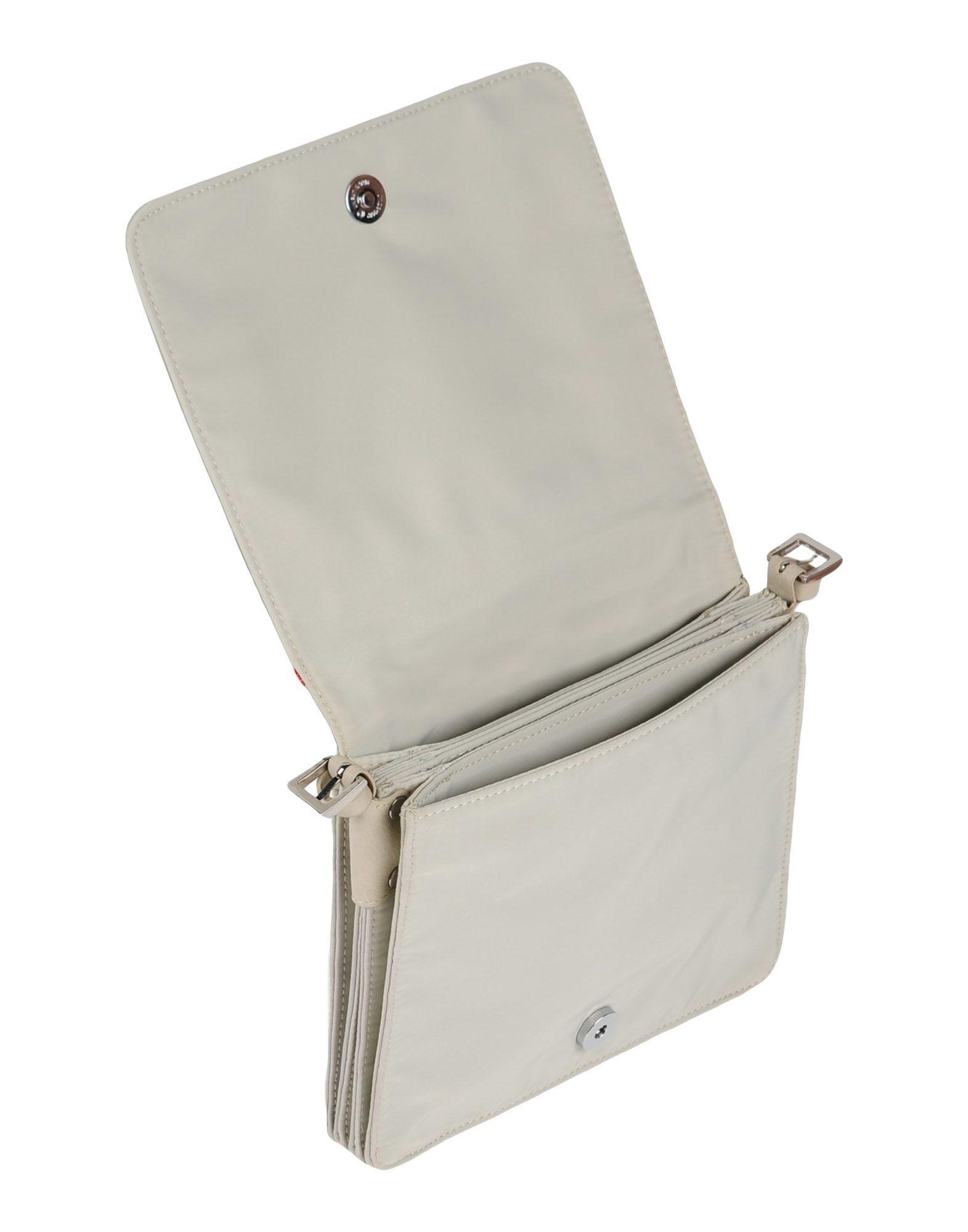 Tosca Blu Synthetic Cross-body Bag in Light Grey (Grey)