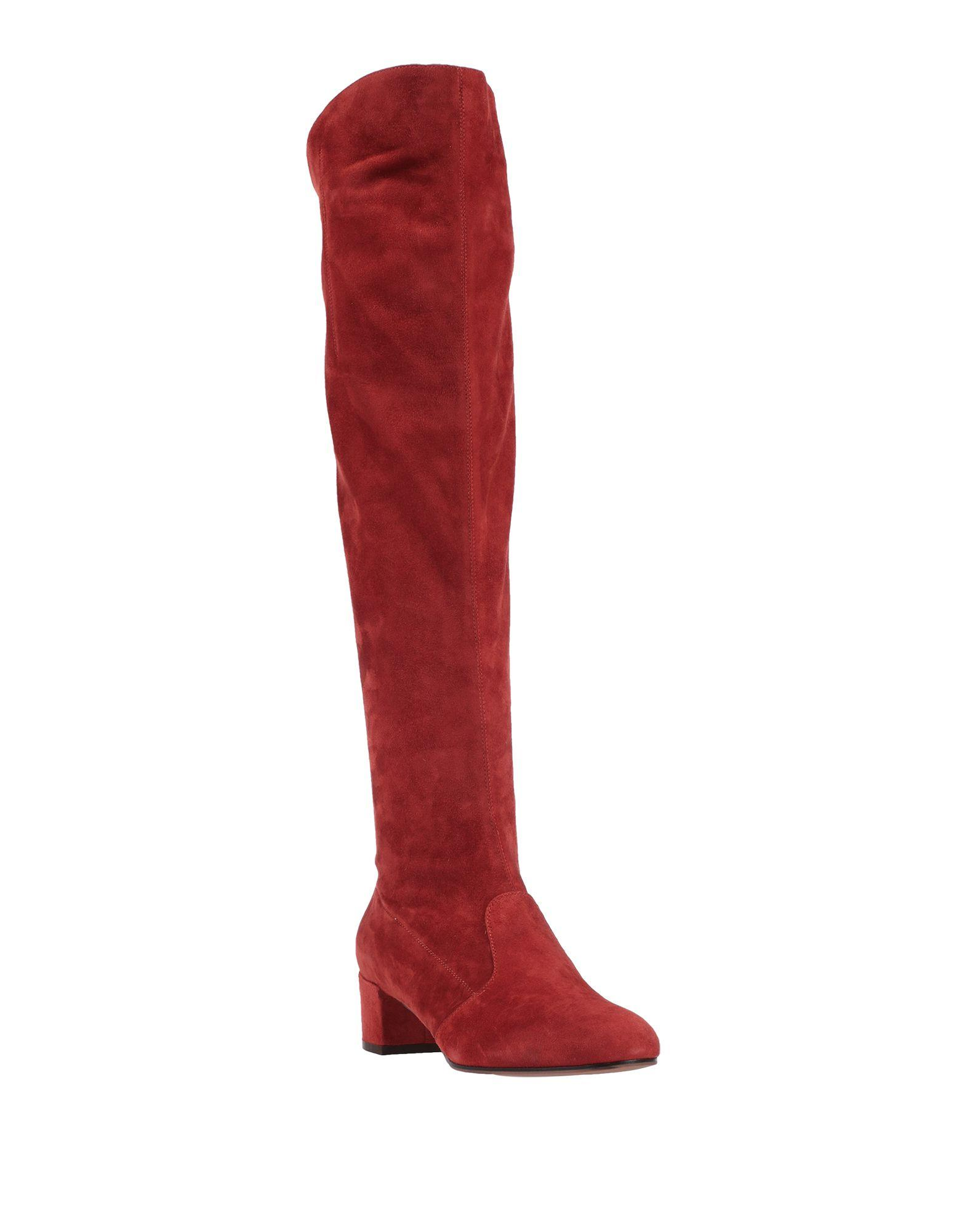 Botas L'Autre Chose de Ante de color Rojo
