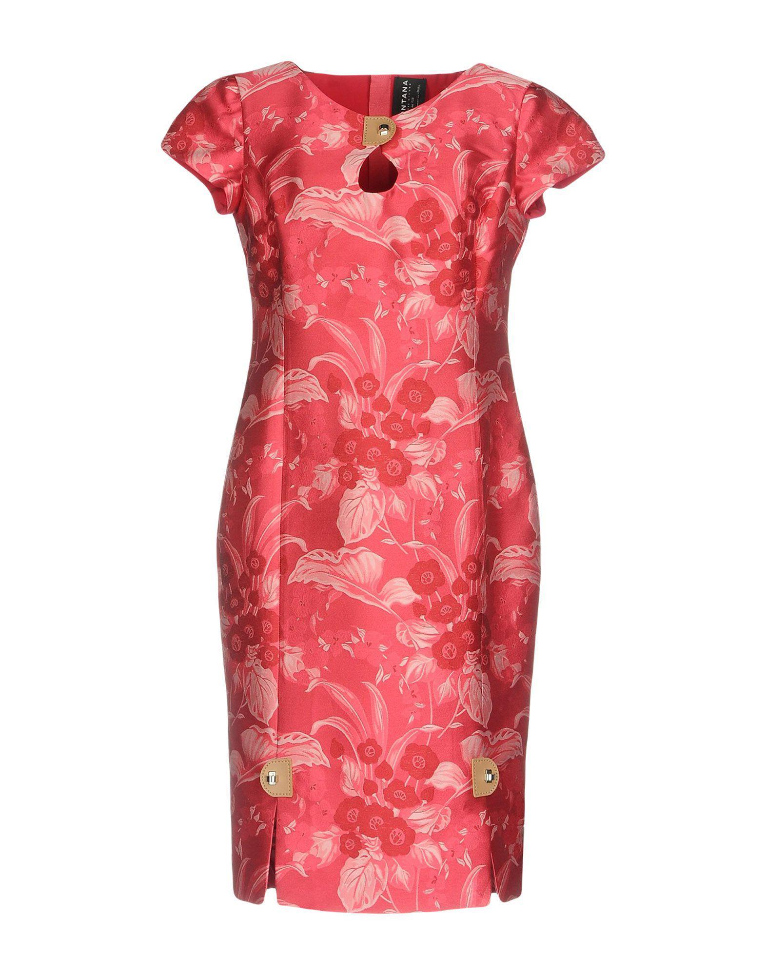 DRESSES - 3/4 length dresses Fontana Couture cbIPdw