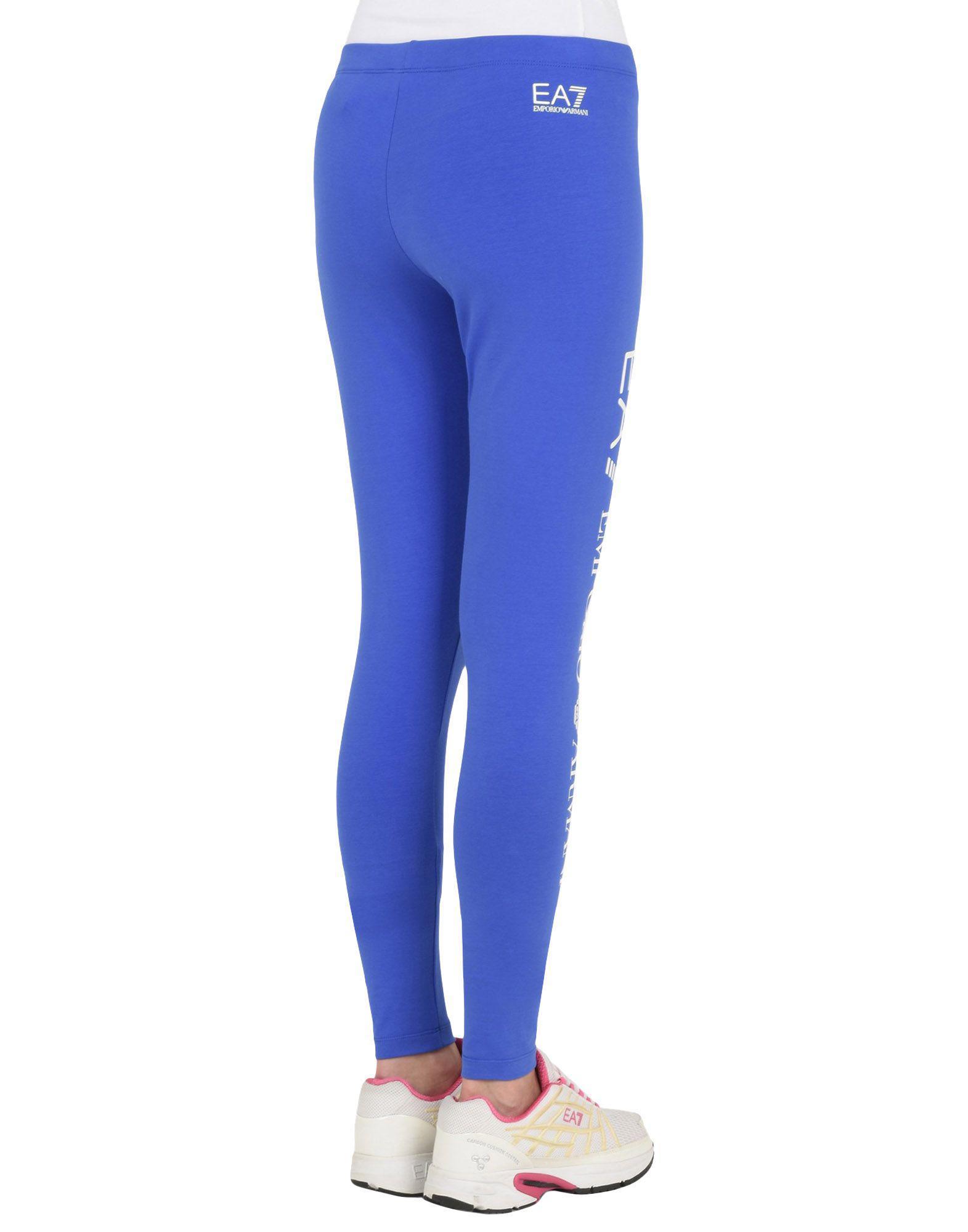Mallas EA7 de Algodón de color Azul