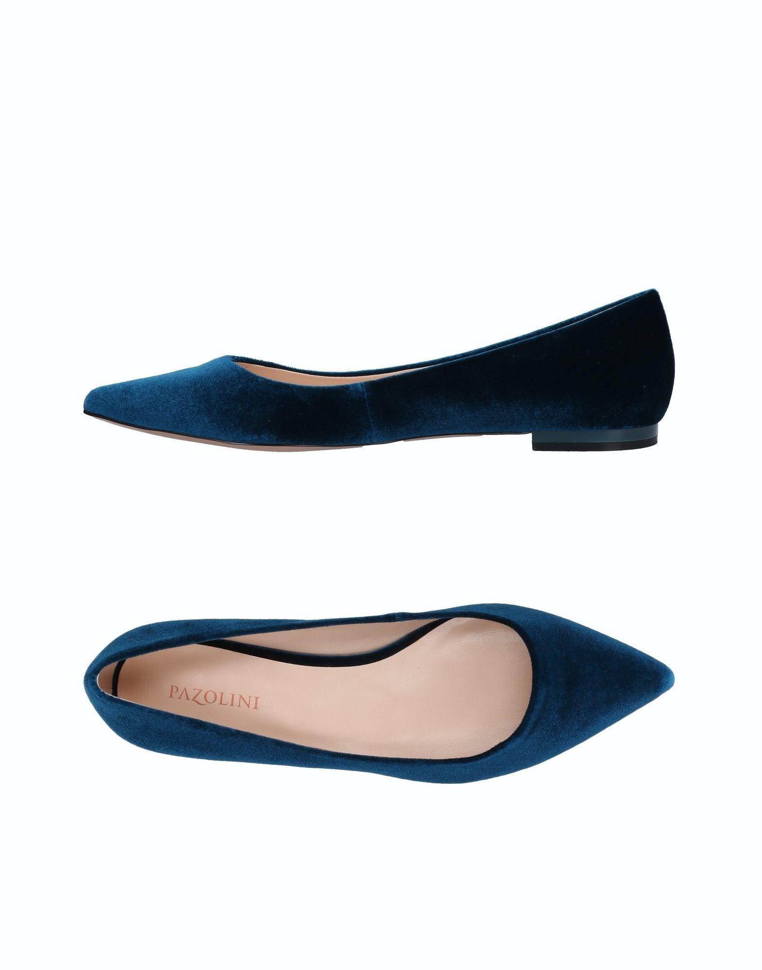 Ballet Carlo Lyst Pazolini Flats Blue in TqOEOxn