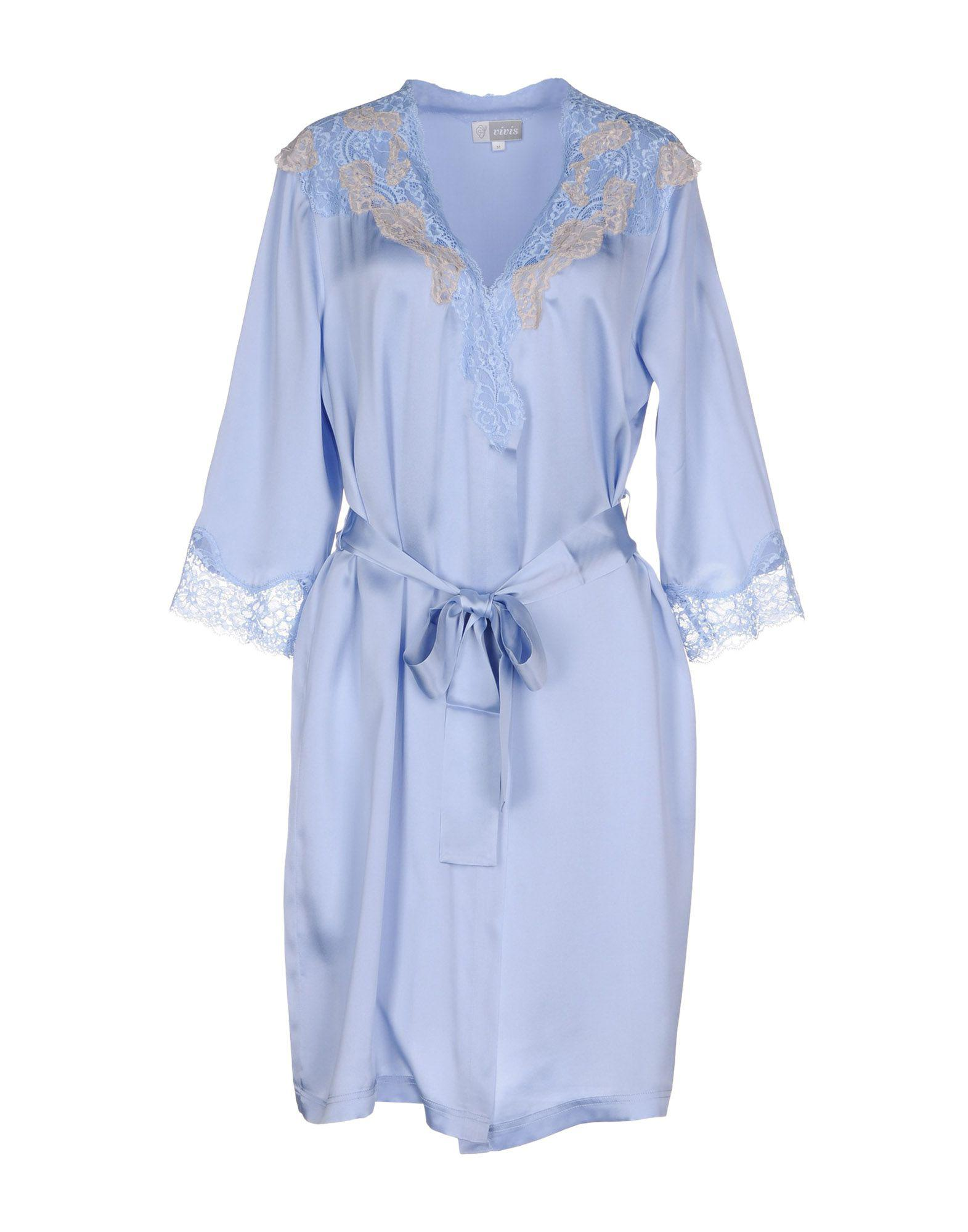 c30fe3bd98 Lyst - Vivis Dressing Gown in Blue