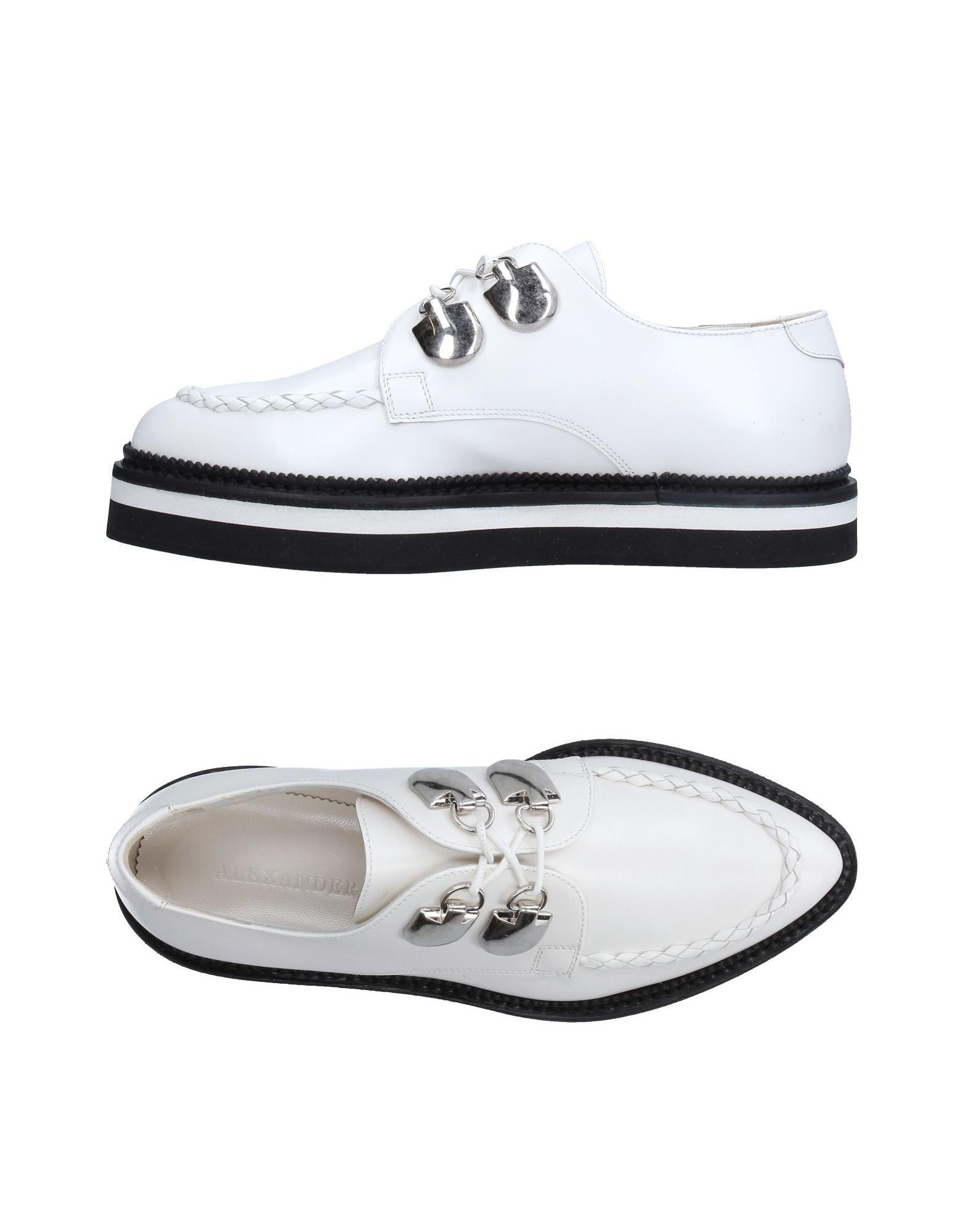 Alexander Mcqueen Lace-up Shoe in White - Lyst