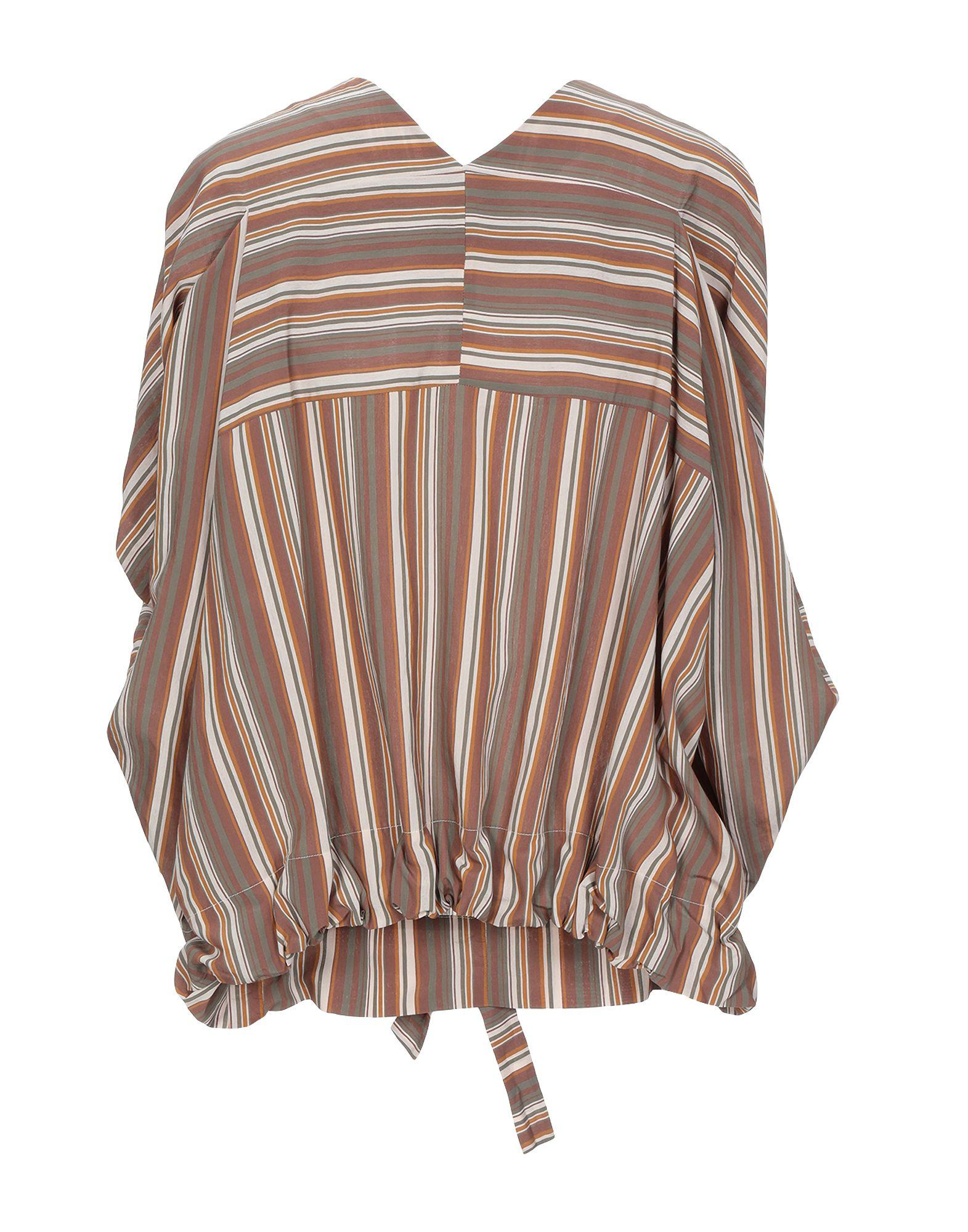 Blouse Brian Dales en coloris Marron
