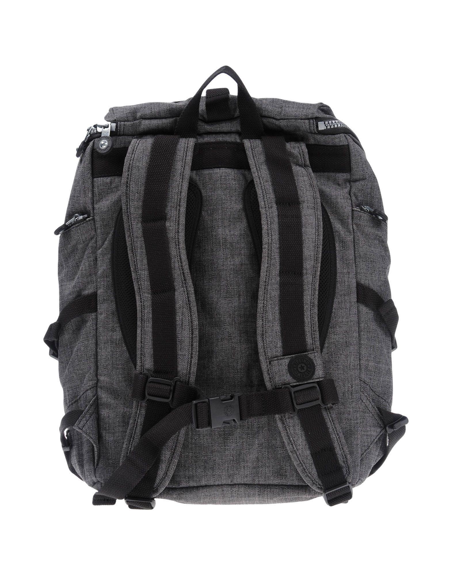 Kipling Synthetic Backpacks & Bum Bags in Lead (Grey) for Men