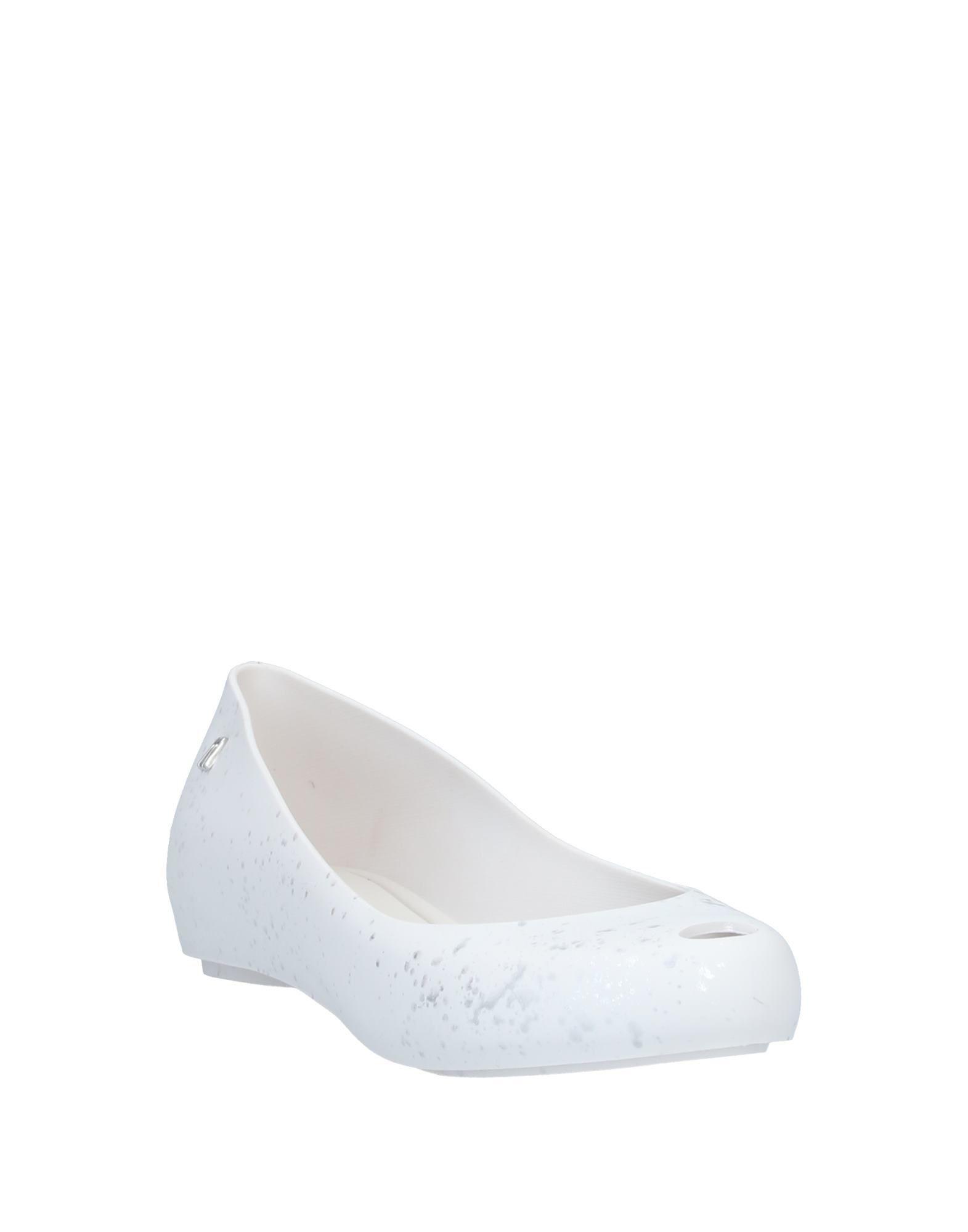 Bailarinas Melissa de Caucho de color Blanco
