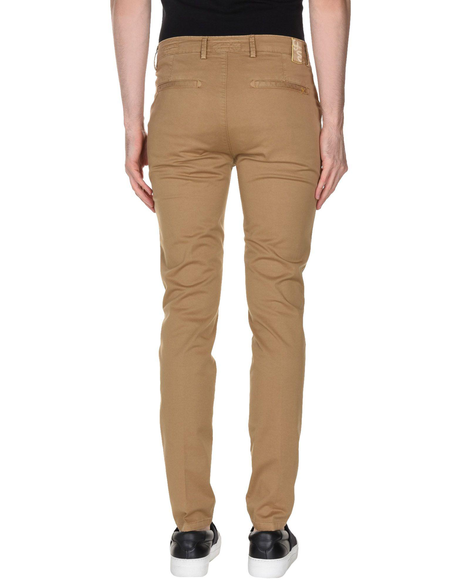 Yan Simmon Cotton Casual Pants in Camel (Natural) for Men