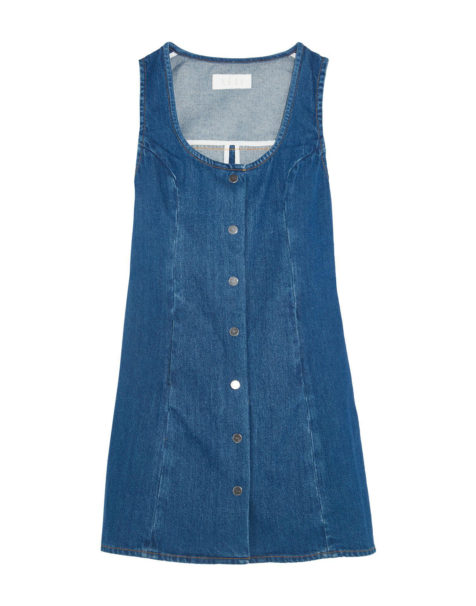 Blue Kéji In Short Dress Lyst ISBaqyw