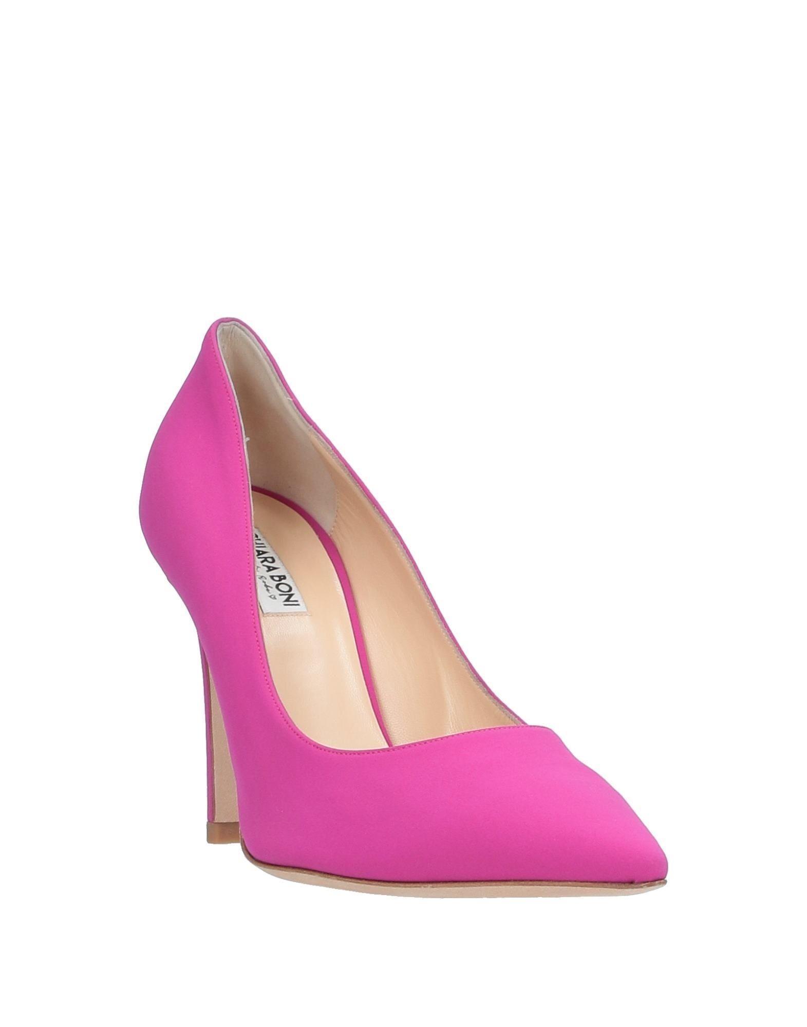 Zapatos de salón La Petite Robe Di Chiara Boni de Cuero de color Morado