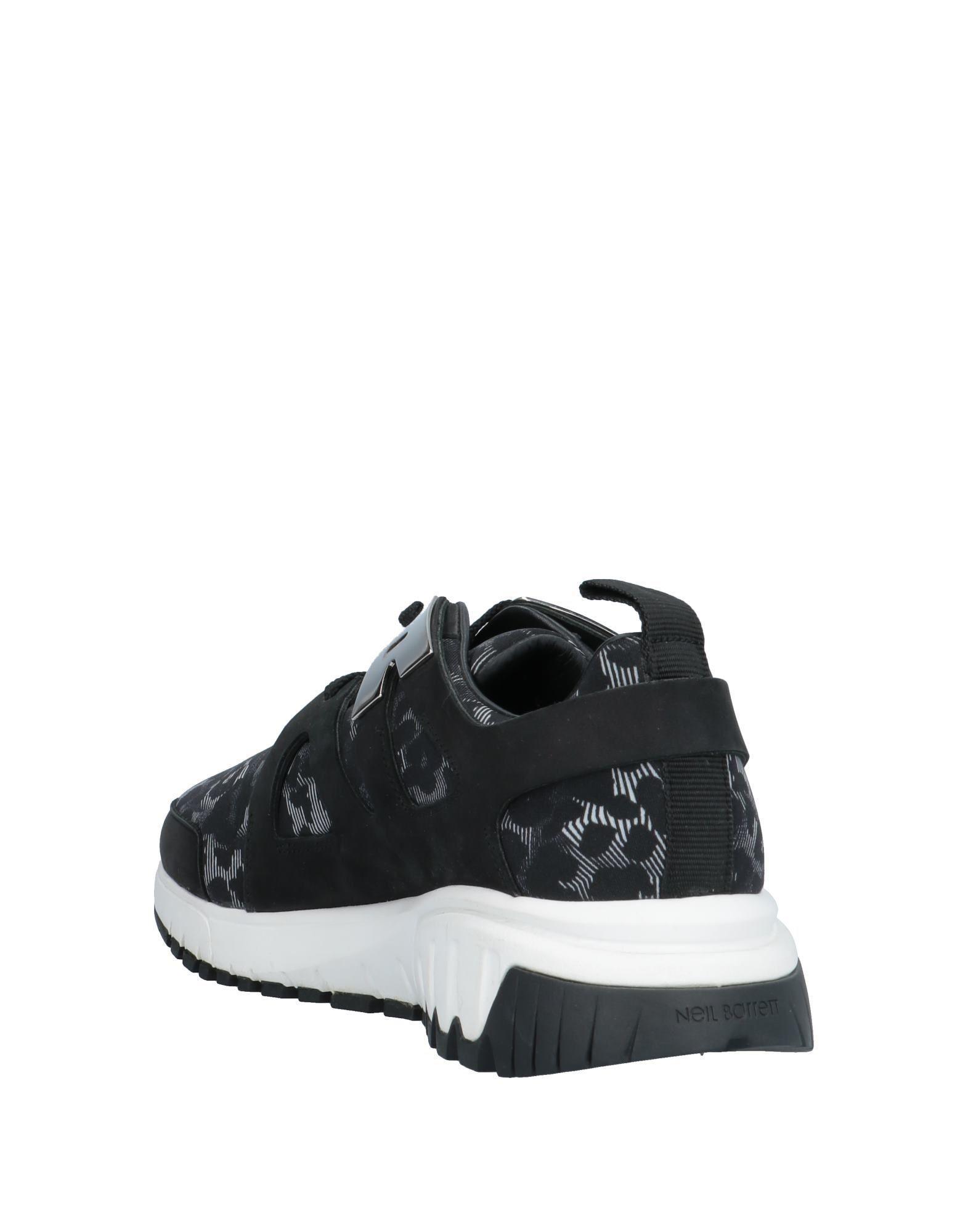 Sneakers & Deportivas Neil Barrett de color Negro