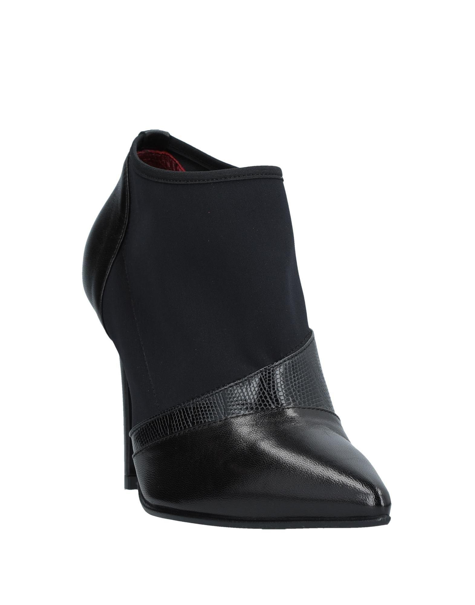 Couture Leather Bootie in Black
