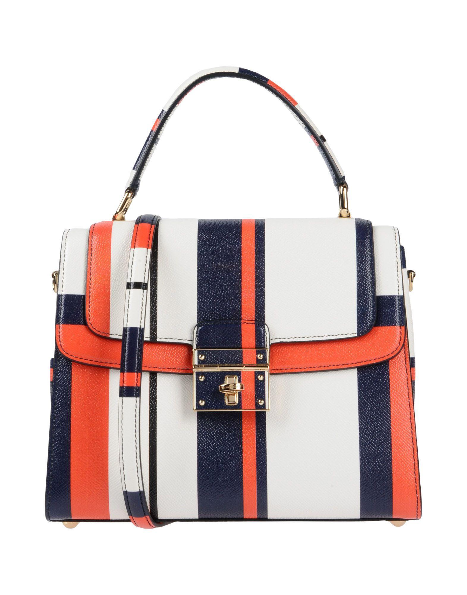 5fbd9215b25c Lyst - Dolce   Gabbana Handbag in White