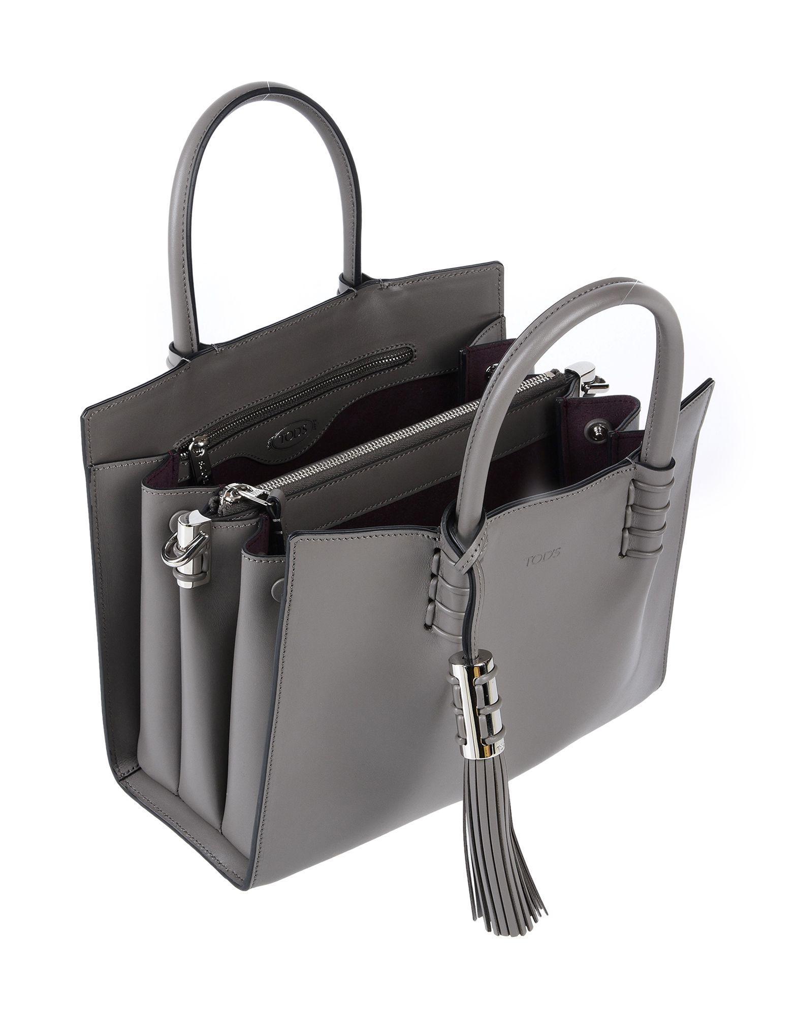 Tod's Handtaschen in Grau Kn8a3