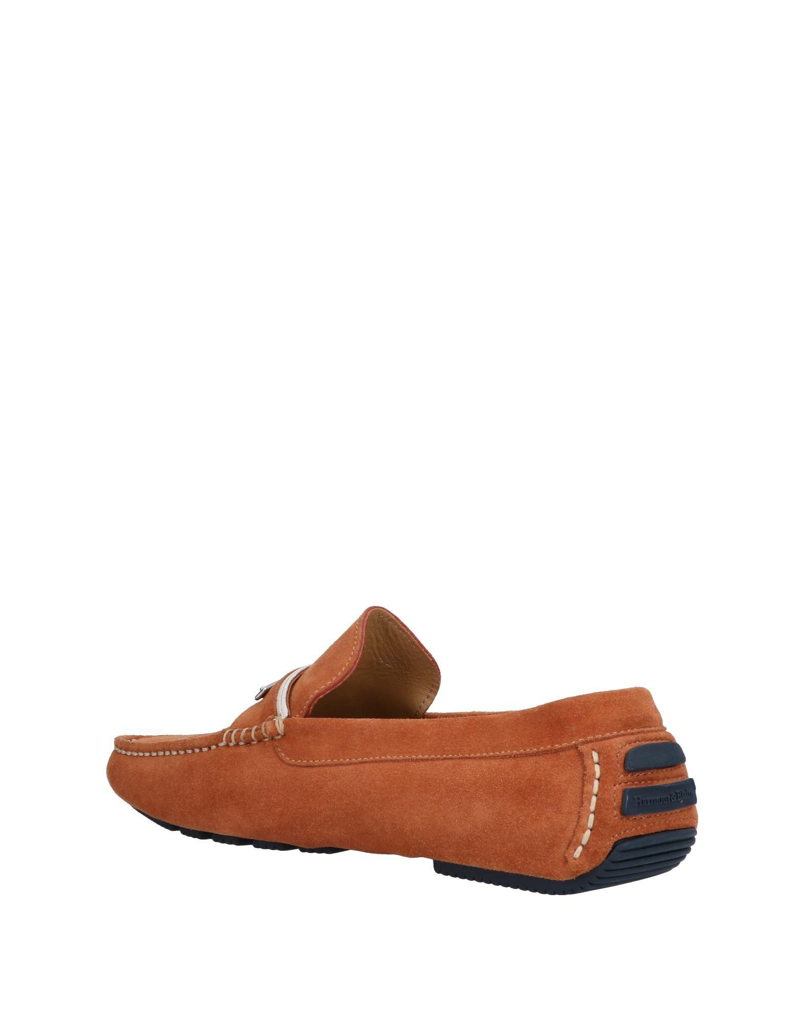 Harmont & Blaine Suede Loafer in Tan (Brown) for Men