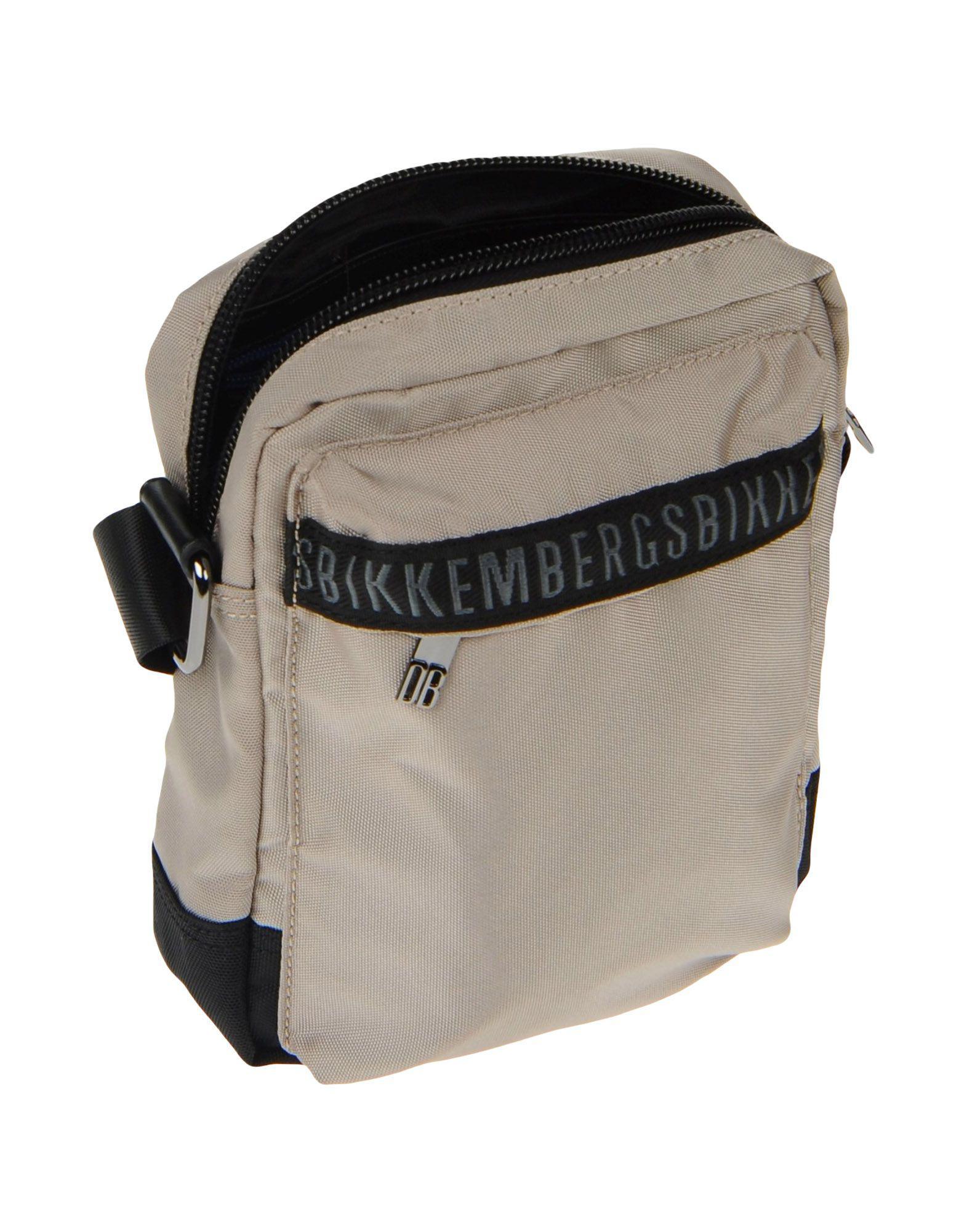 Bikkembergs Synthetic Cross-body Bag in Beige (Natural) for Men
