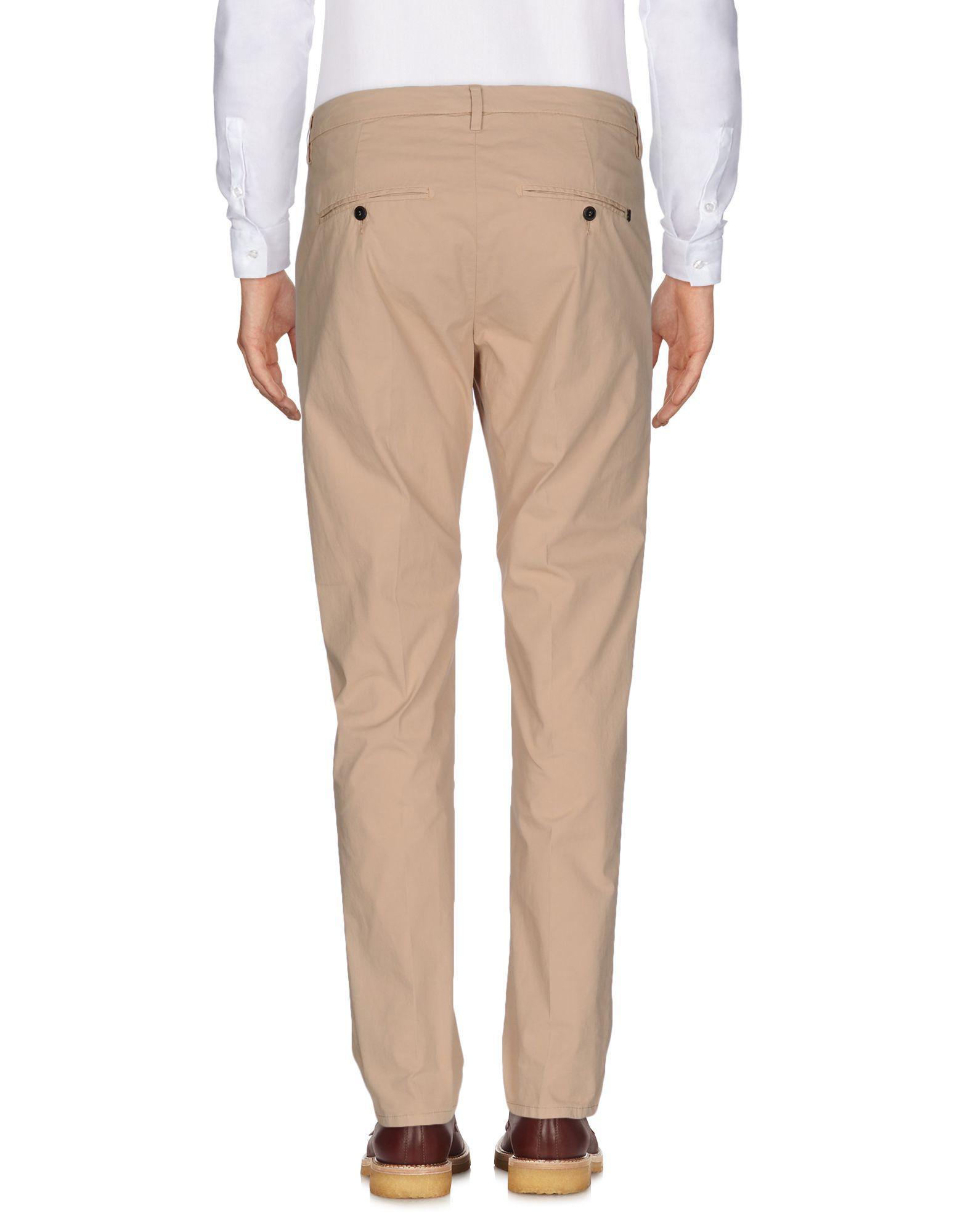 Dondup Cotton Casual Pants for Men