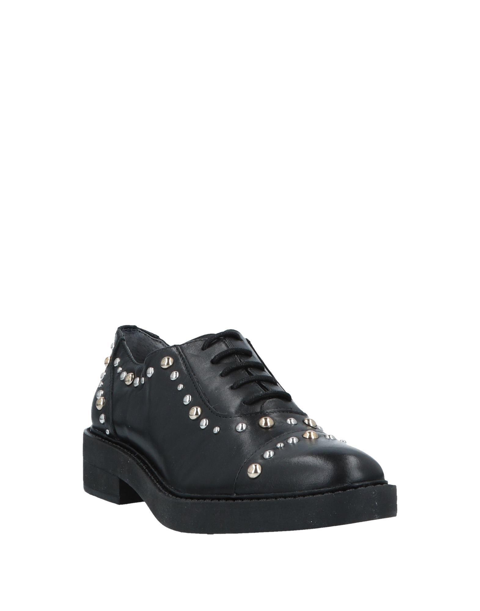 Zapatos de cordones Guess de Cuero de color Negro