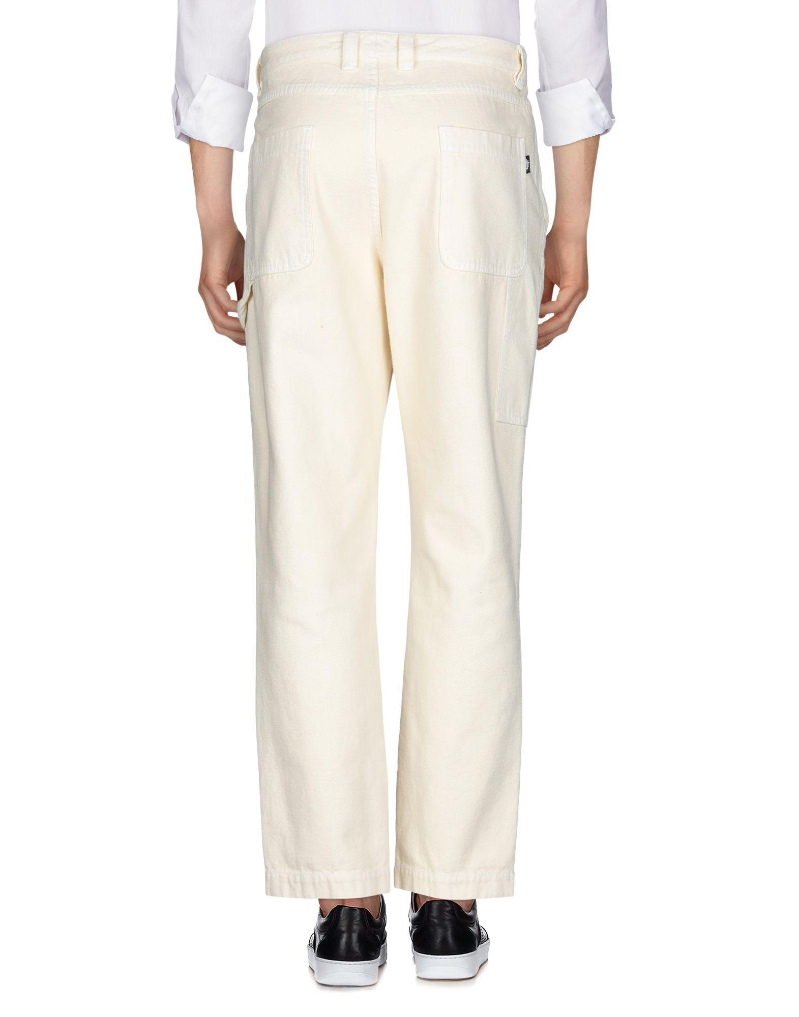 Stussy Canvas Casual Trouser in Ivory (White) for Men