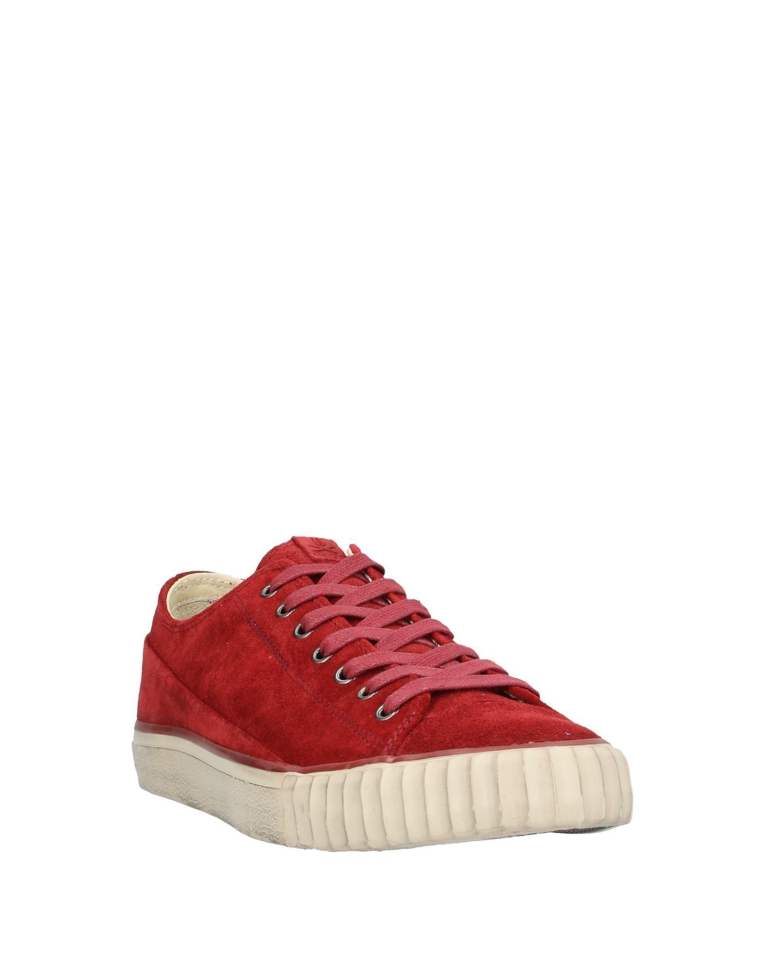 Sneakers & Deportivas John Varvatos de Cuero de color Rojo para hombre