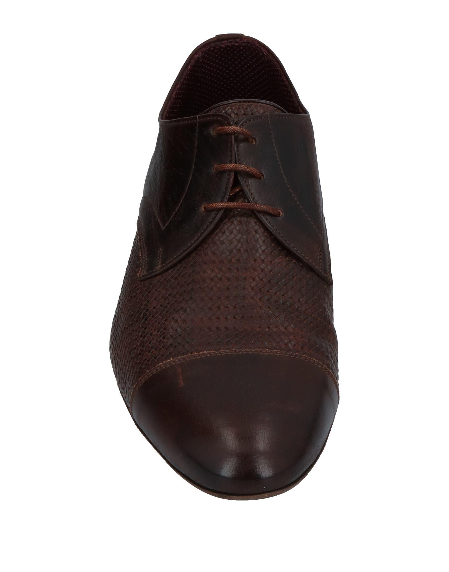 Lidfort Leather Lace-up Shoe in Dark Brown (Brown) for Men