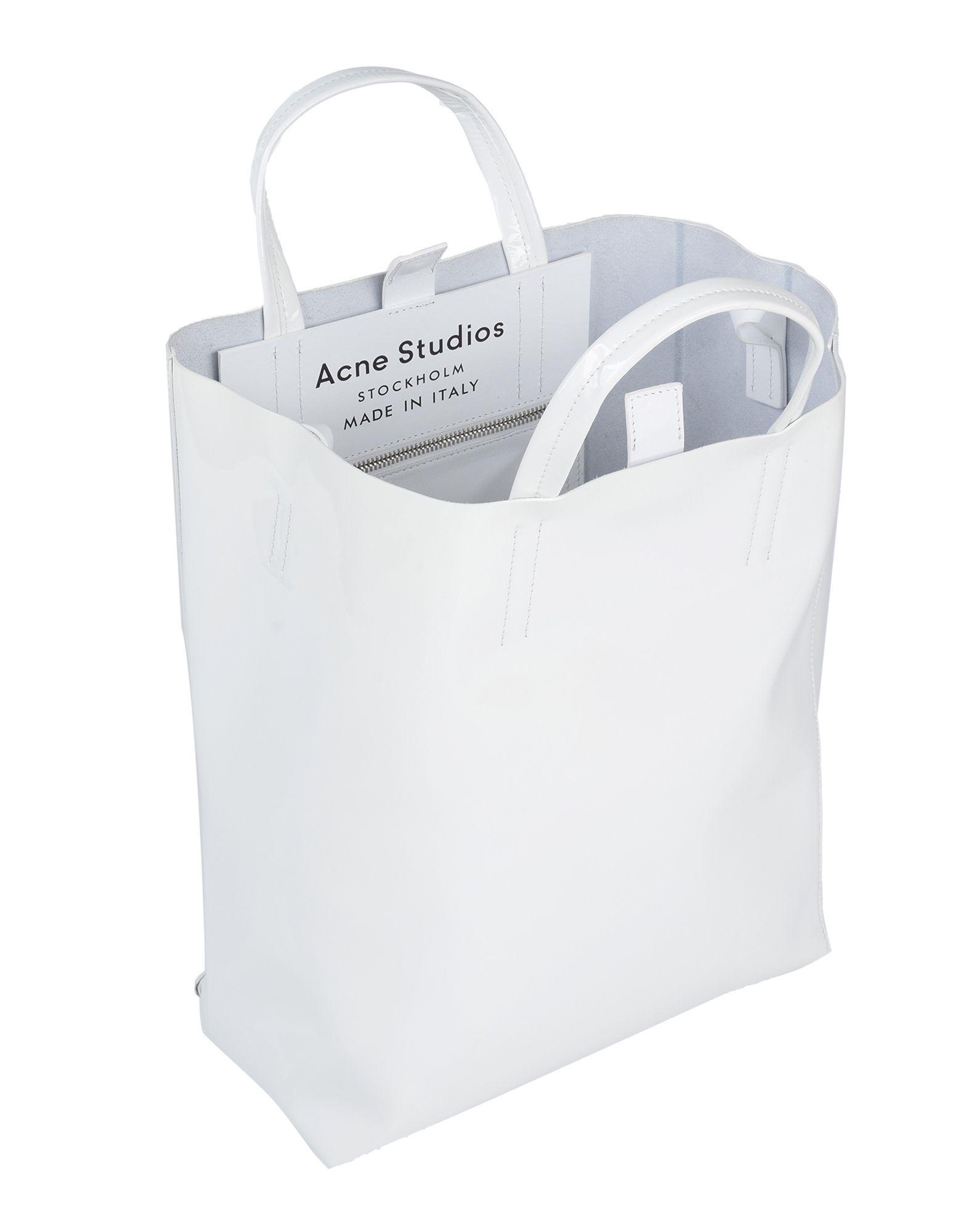Acne Studios Handtaschen in Weiß kUi17
