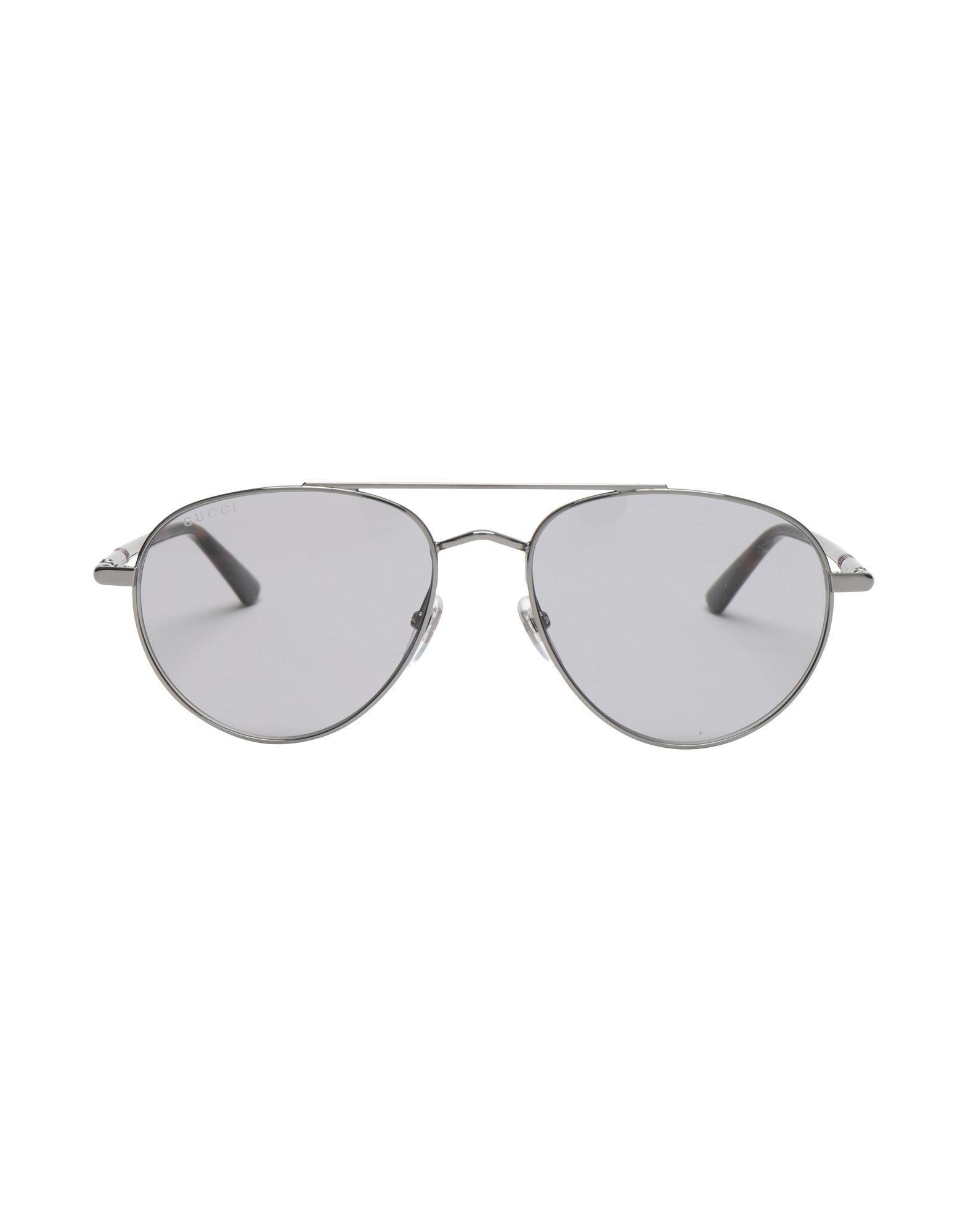 c4e3cc3f29 Gucci Sunglasses in Gray for Men - Lyst