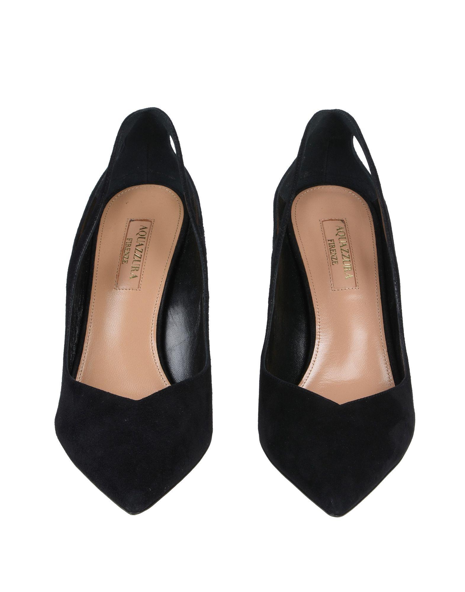 Zapatos de salón Aquazzura de Ante de color Negro