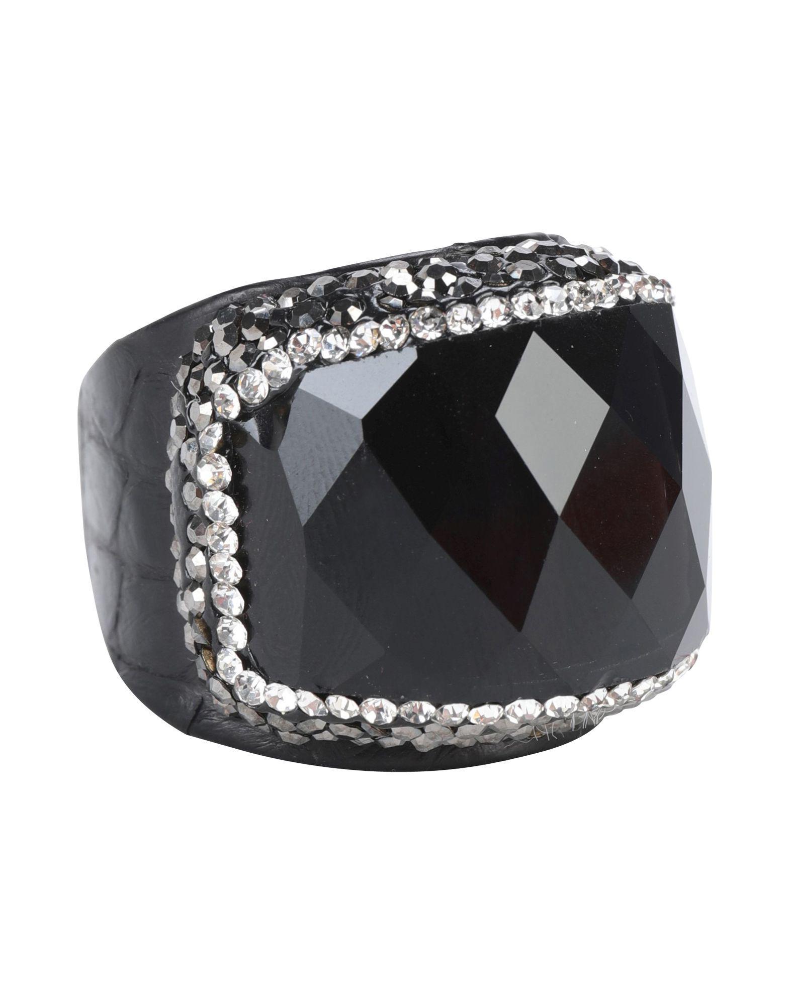 Jolie By Edward Spiers Ring in Black