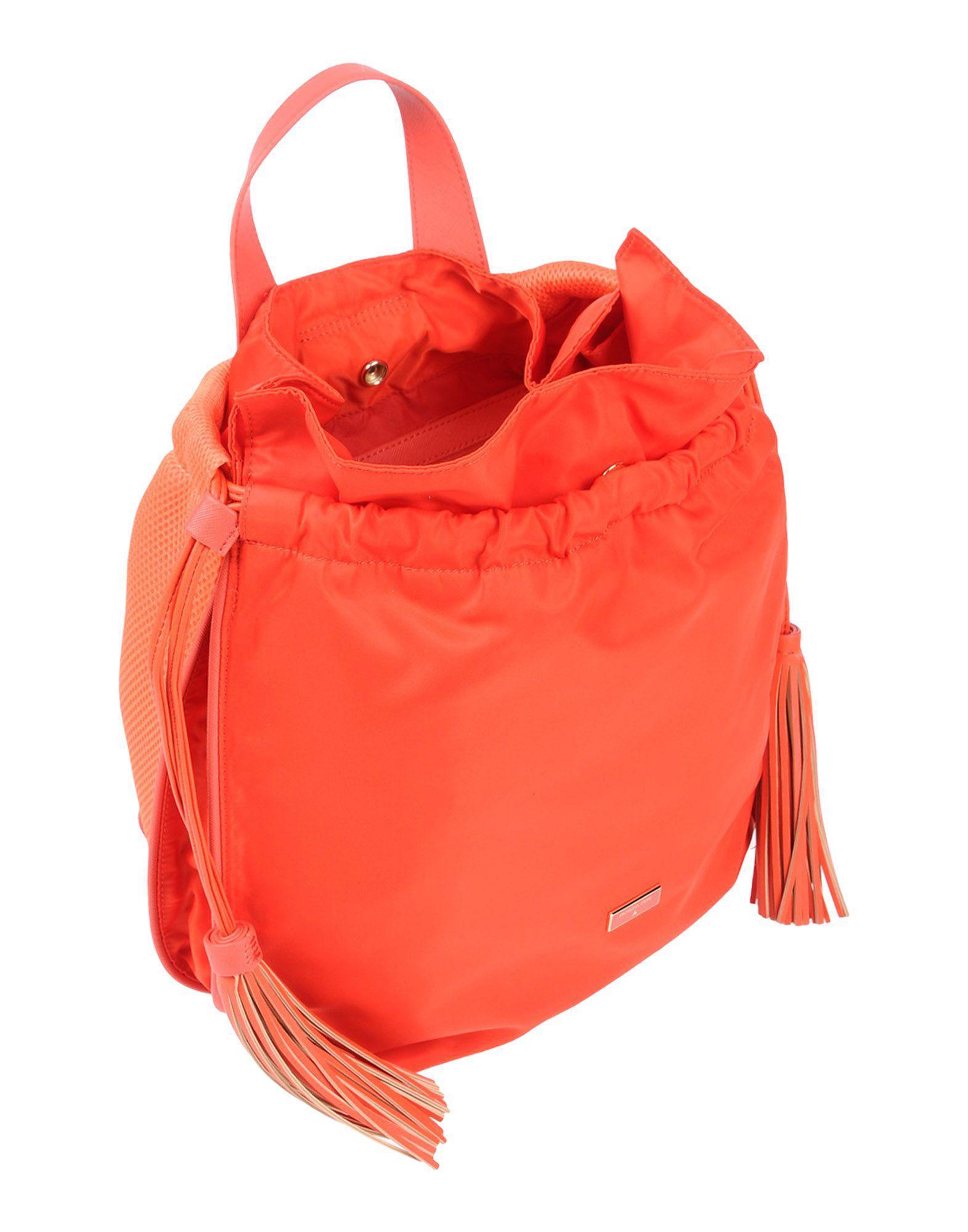 Patrizia Pepe Backpacks & Fanny Packs in Orange