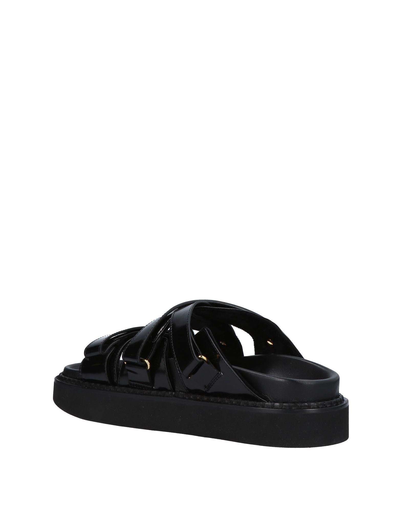 Faux fur-trimmed leather sandals Simone Rocha Sale Visa Payment QRWrvISora
