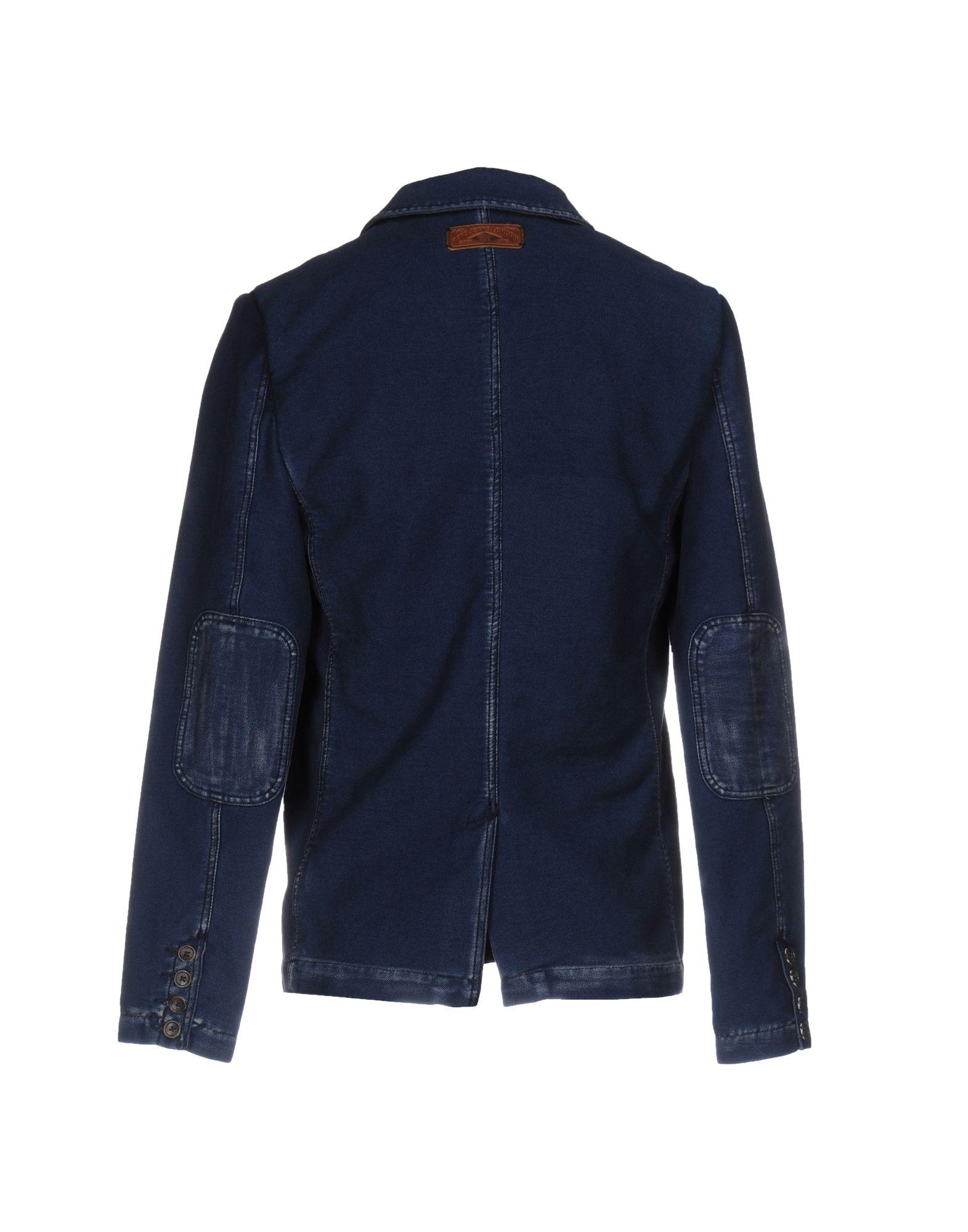 Pepe Jeans Synthetic Blazer in Blue for Men