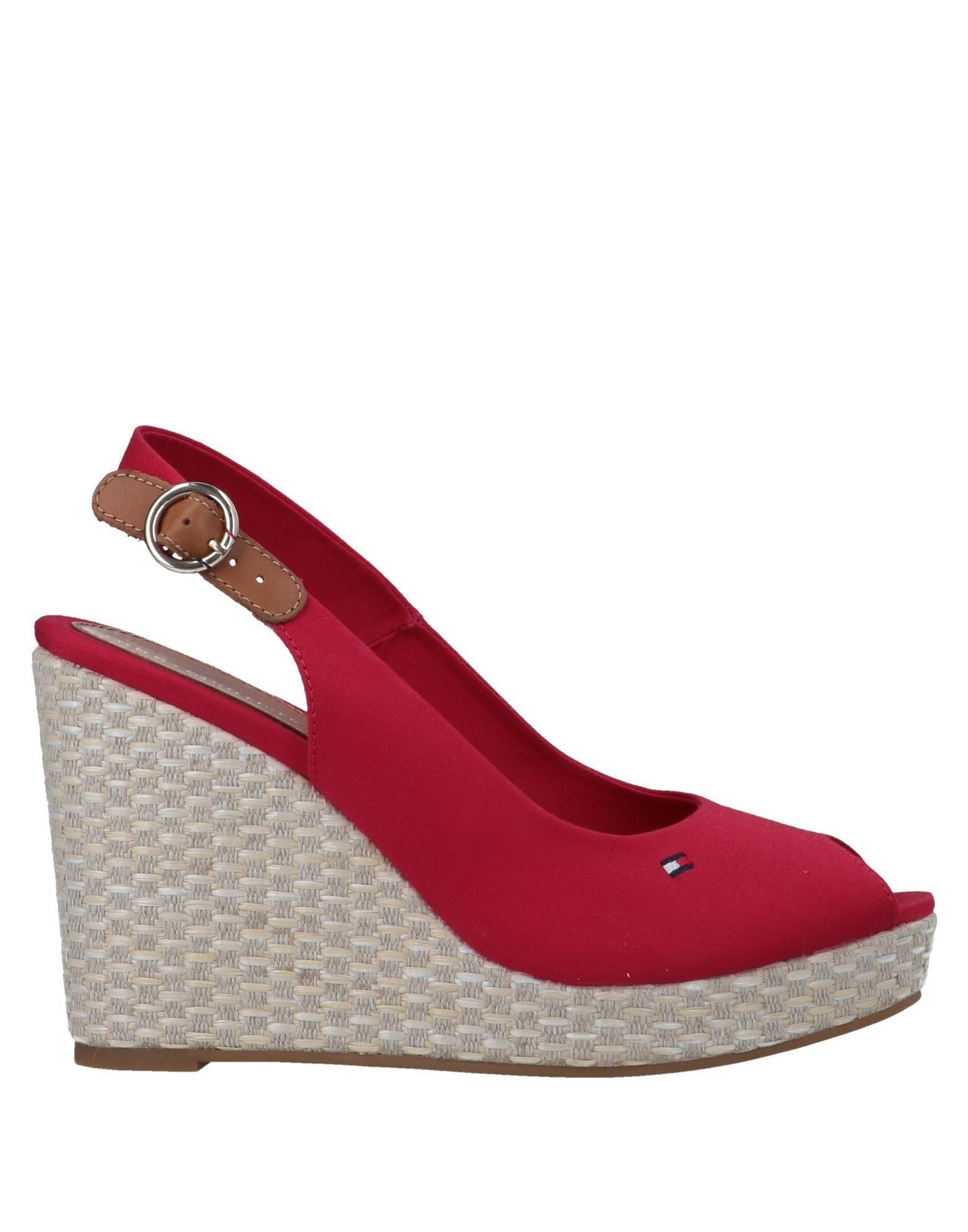 7887ab3b867b3a Lyst - Tommy Hilfiger Sandals in Red