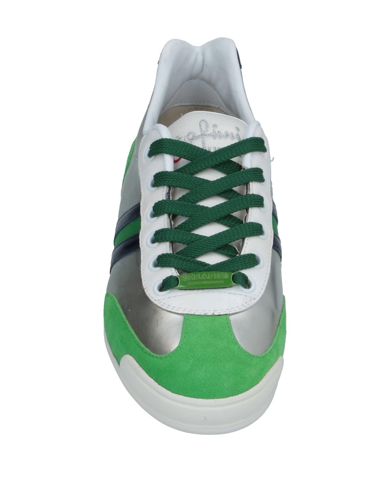 Sneakers & Deportivas Serafini de Cuero de color Verde