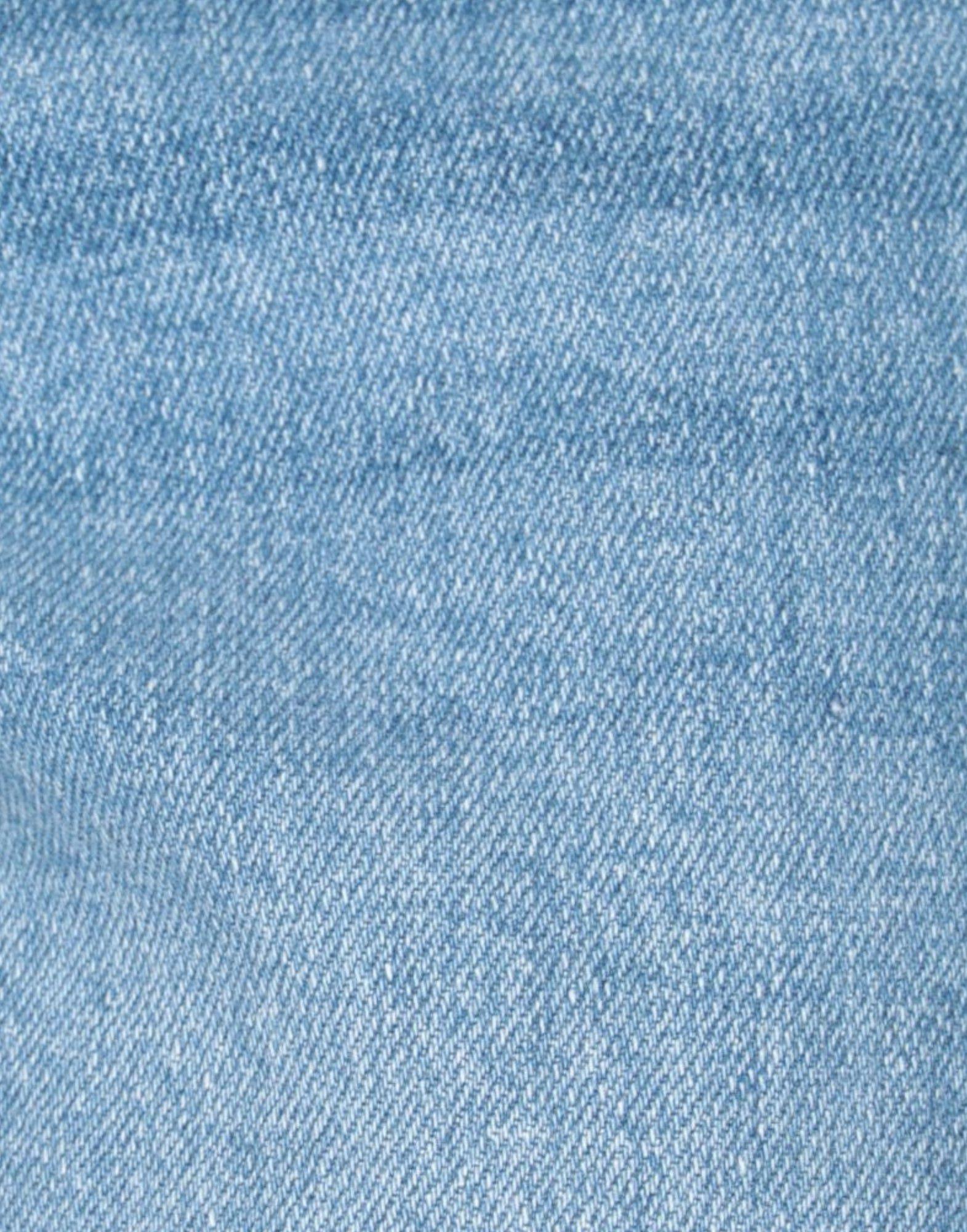 Pieces Denim Jeanshose in Blau