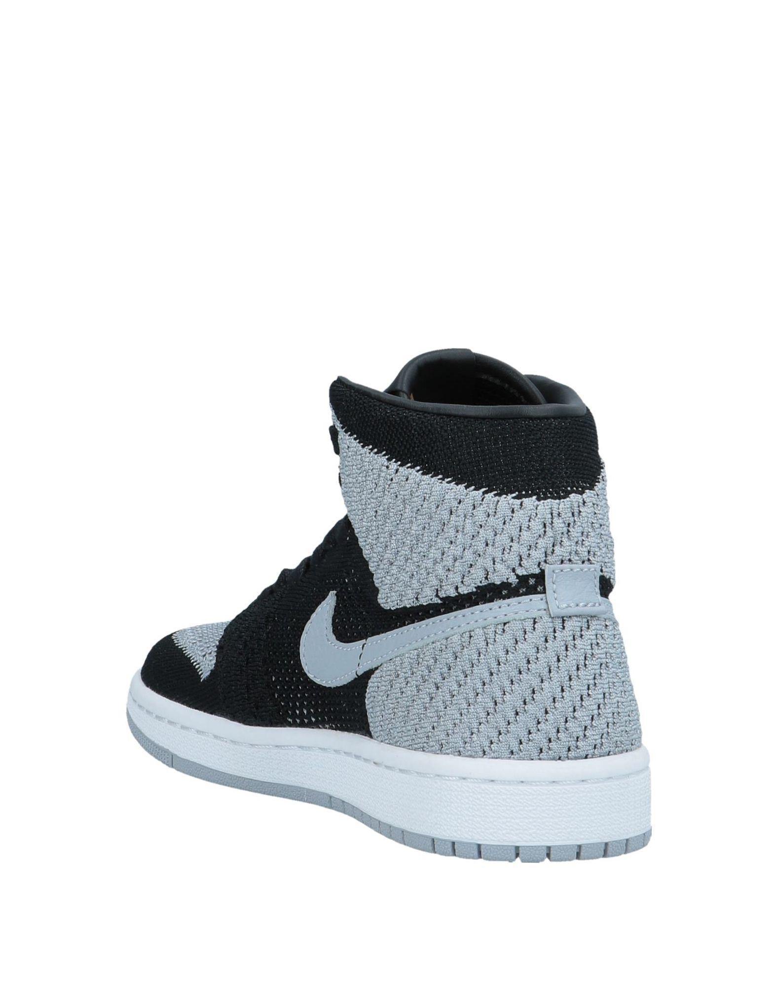 the latest a47b0 bda0b nike gray high tops sneakers for ...