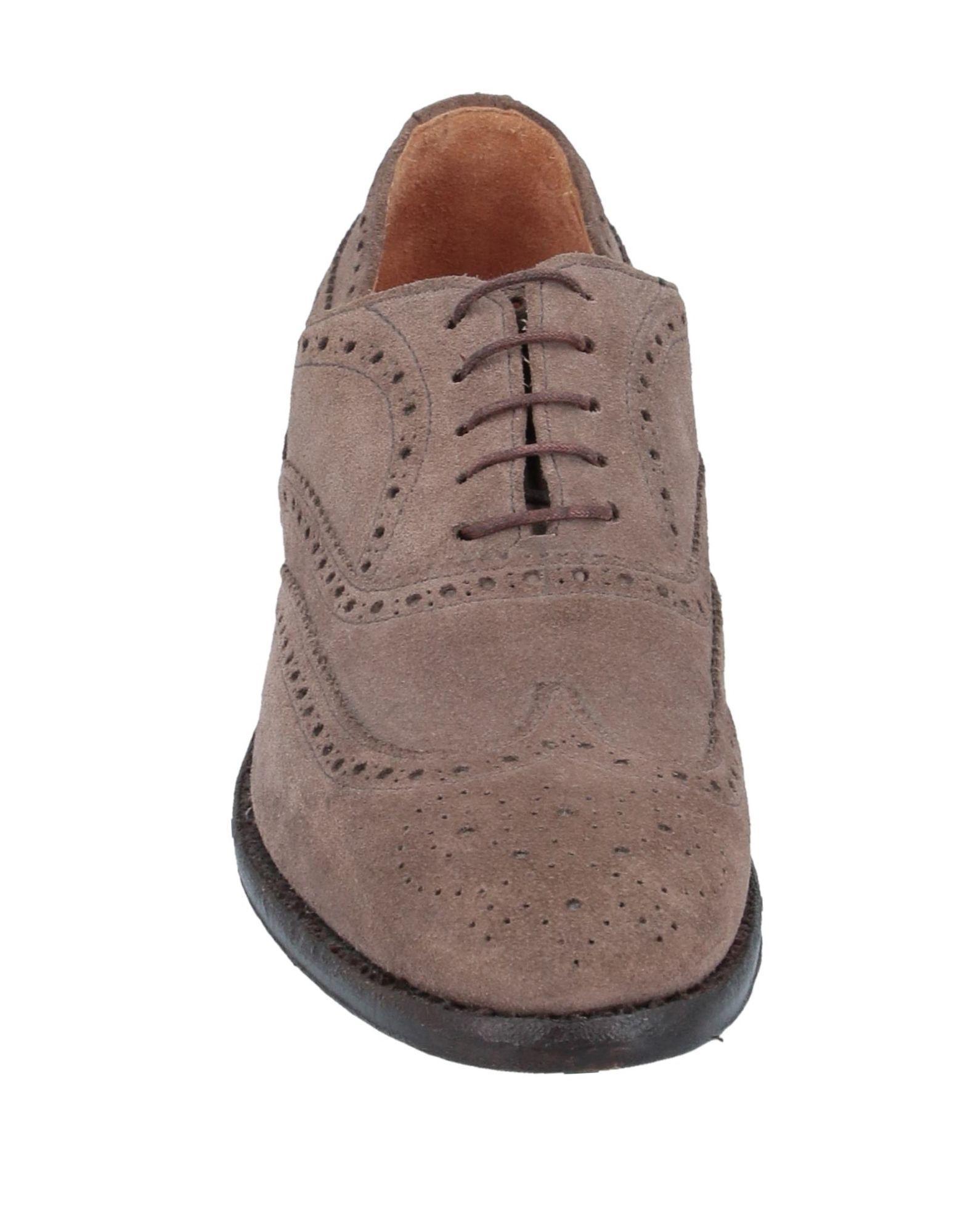 Zapatos de cordones Green George de color Marrón
