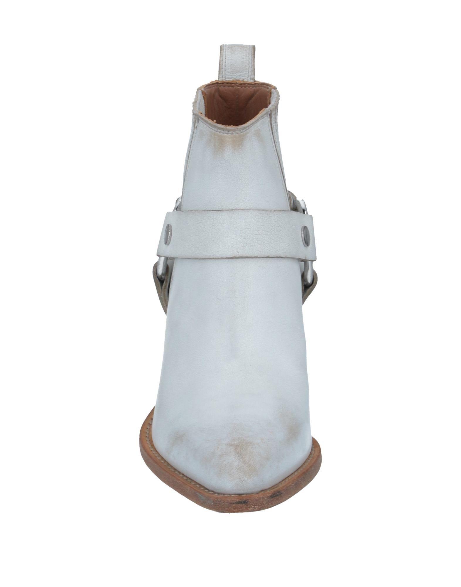 Botines de caña alta Frye de Cuero de color Blanco