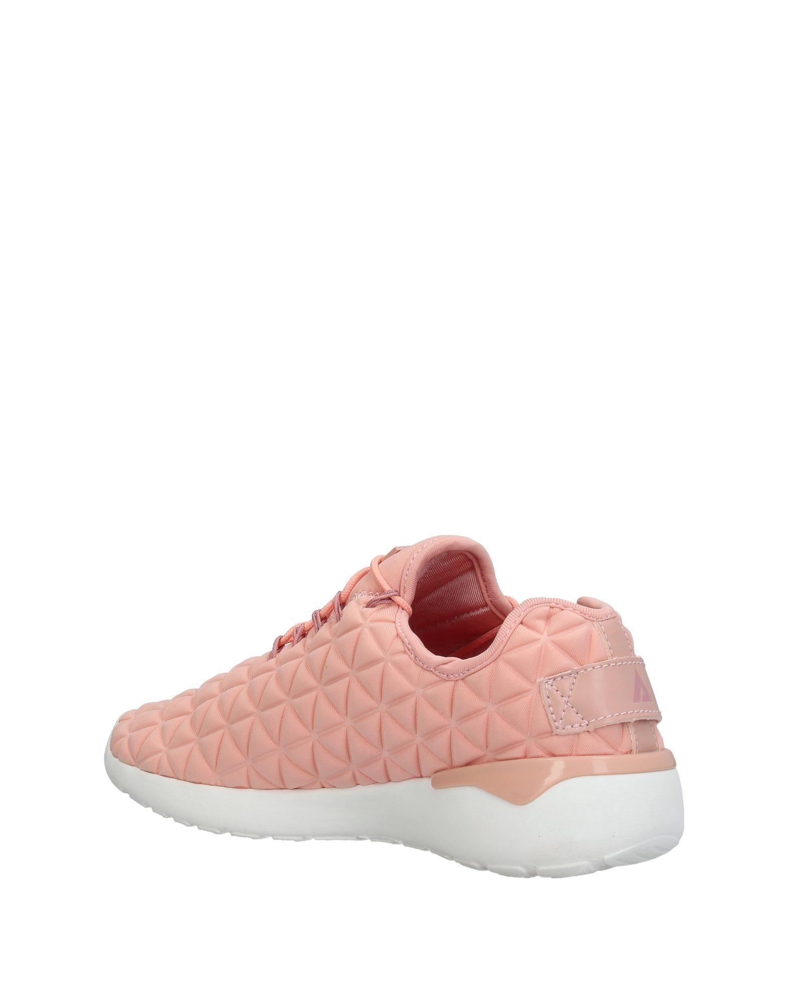 Sneakers & Deportivas ASFVLT Sneakers de Cuero de color Rosa