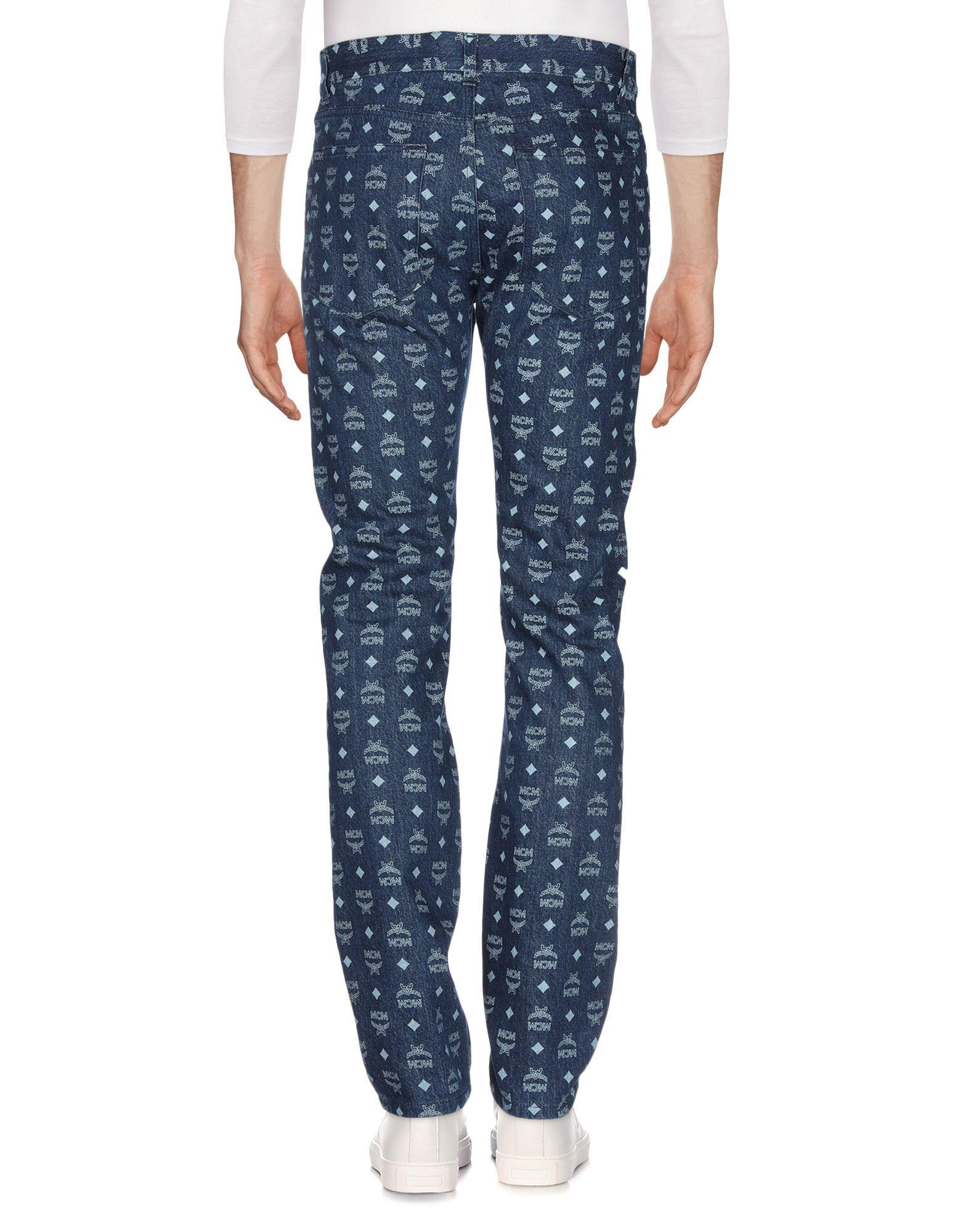 Pantalon en jean Jean MCM pour homme en coloris Bleu