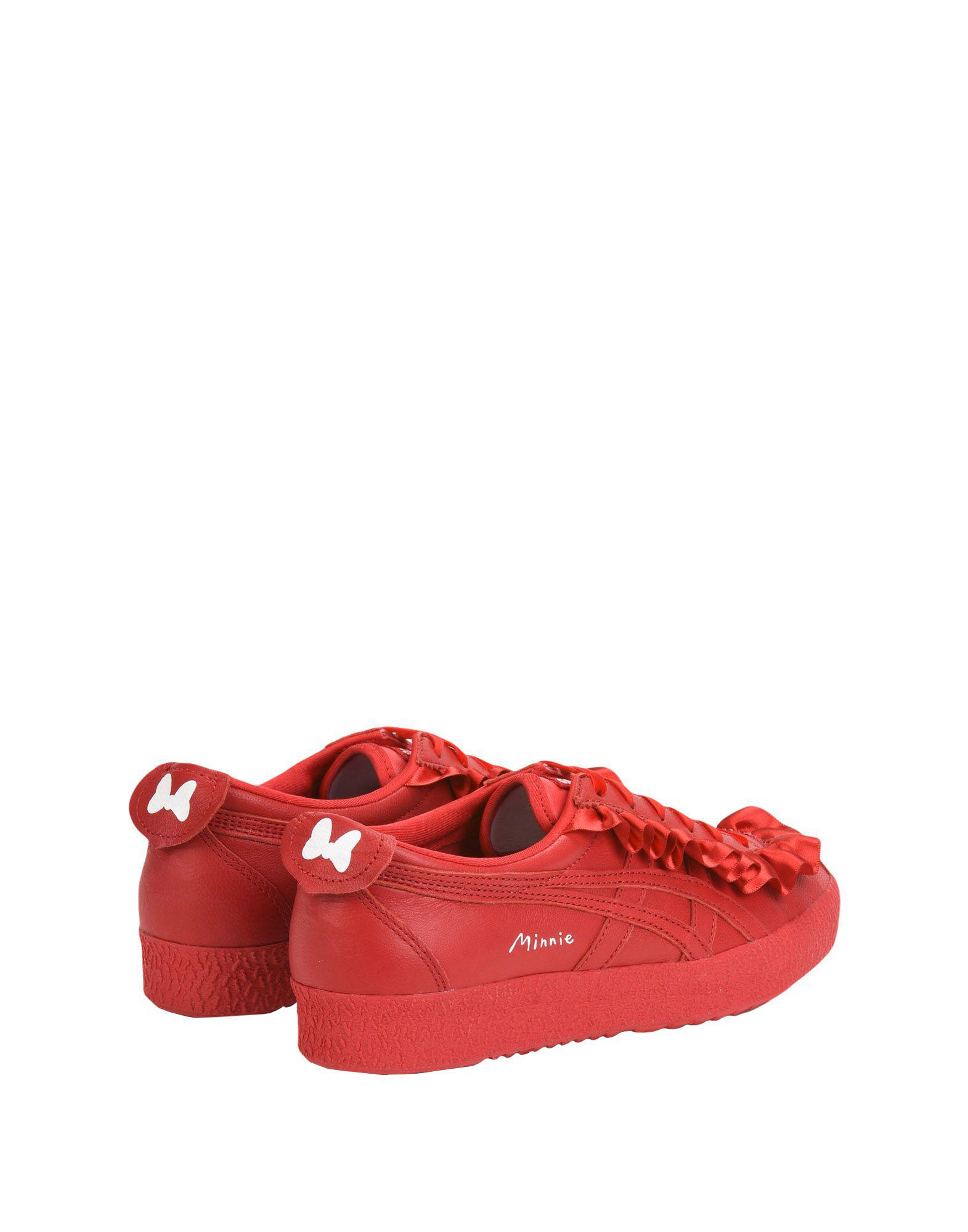 Onitsuka Tiger Satin Low-tops & Sneakers in Red