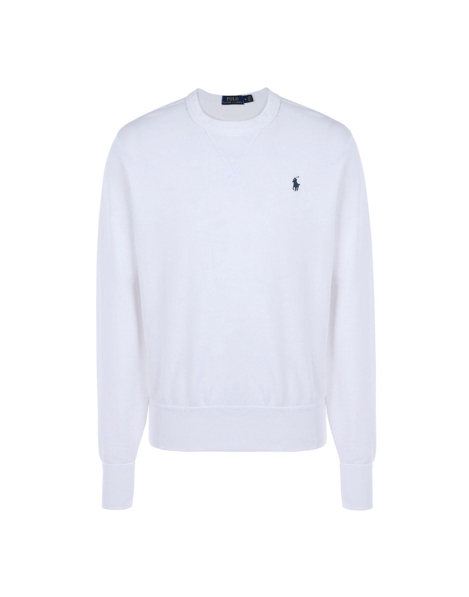 7f6442a5970 Lyst - Sweat-shirt Polo Ralph Lauren pour homme en coloris Blanc